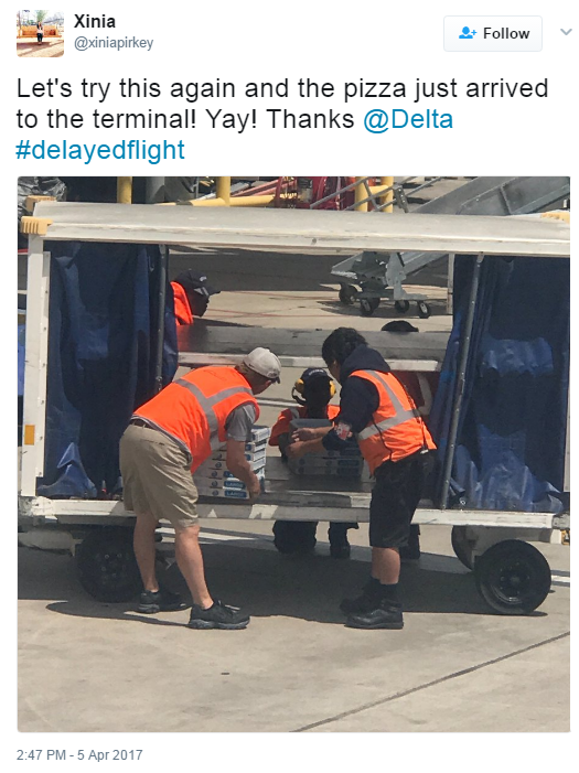 Systemwide, Delta people work round-the-clock during ATL storms