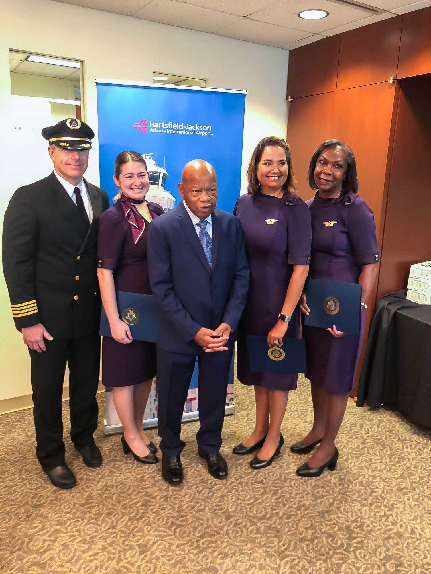 Delta Ceo Honors Rep John Lewis With A Pledge To Continue His Legacy Delta News Hub