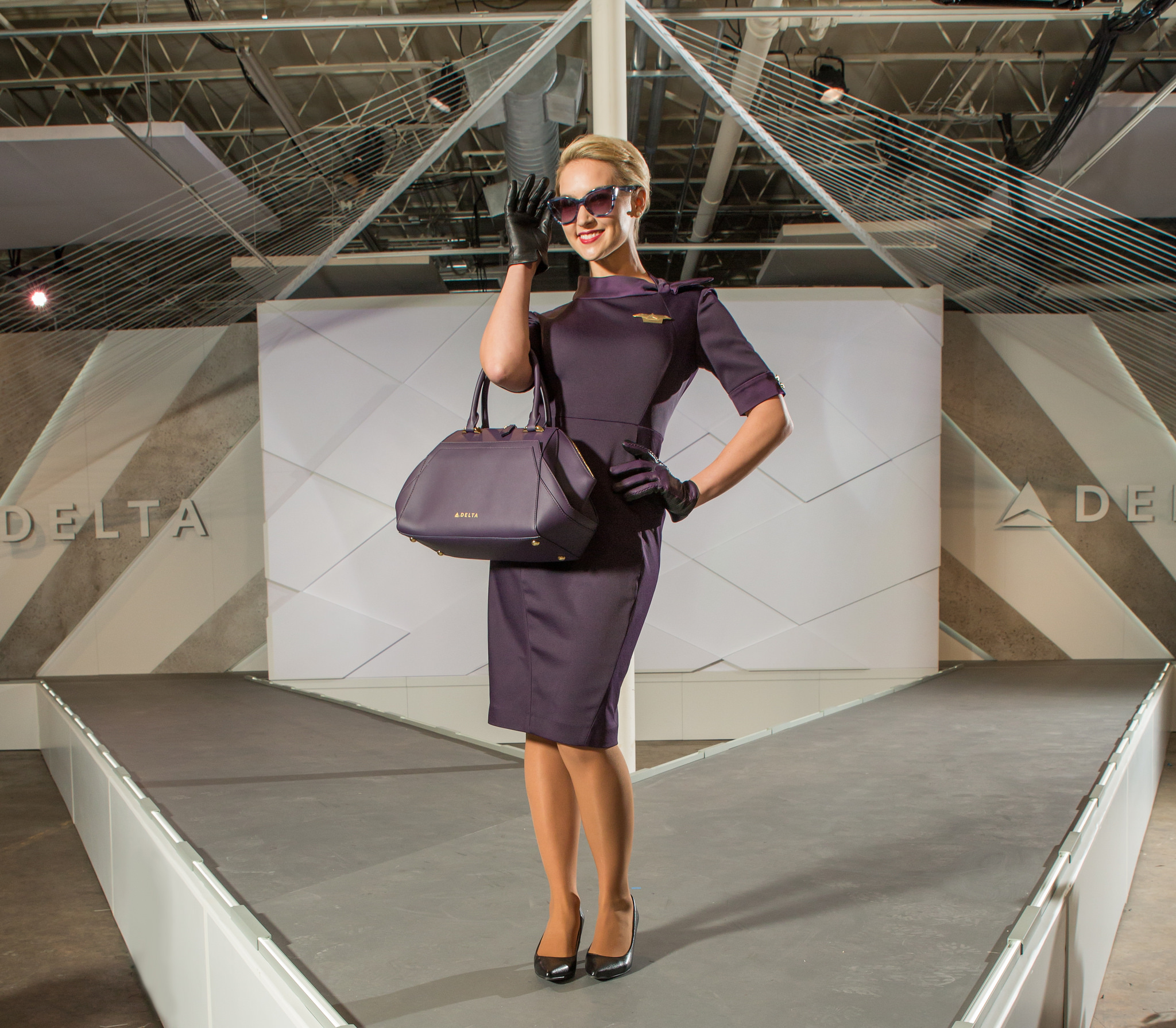 Delta Zac Posen flight attendant uniform