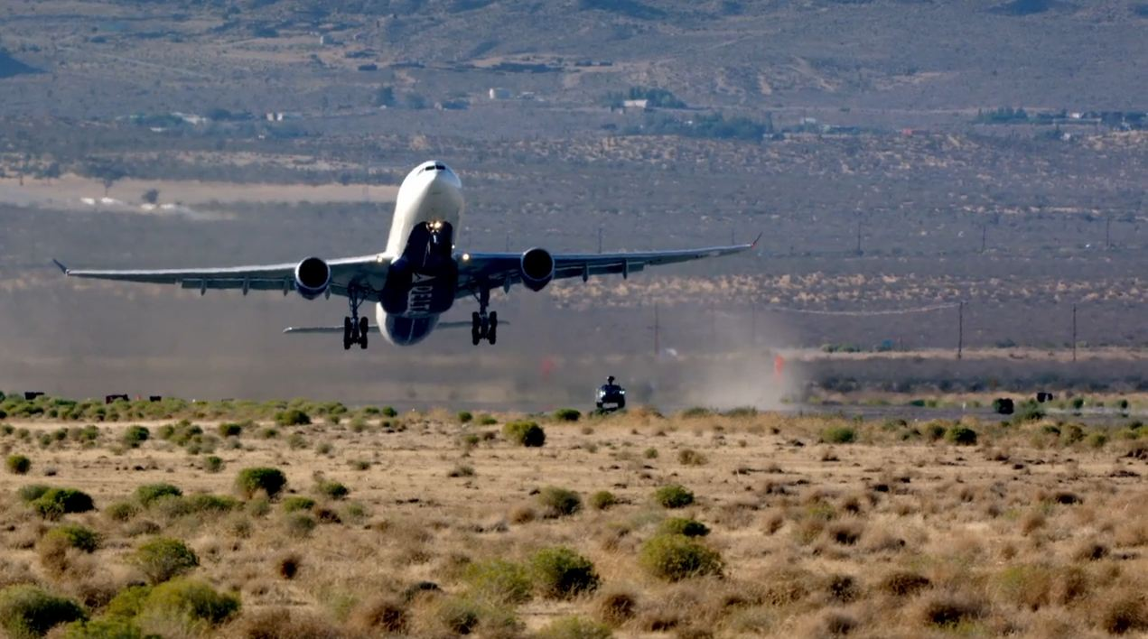 A330 Taking off