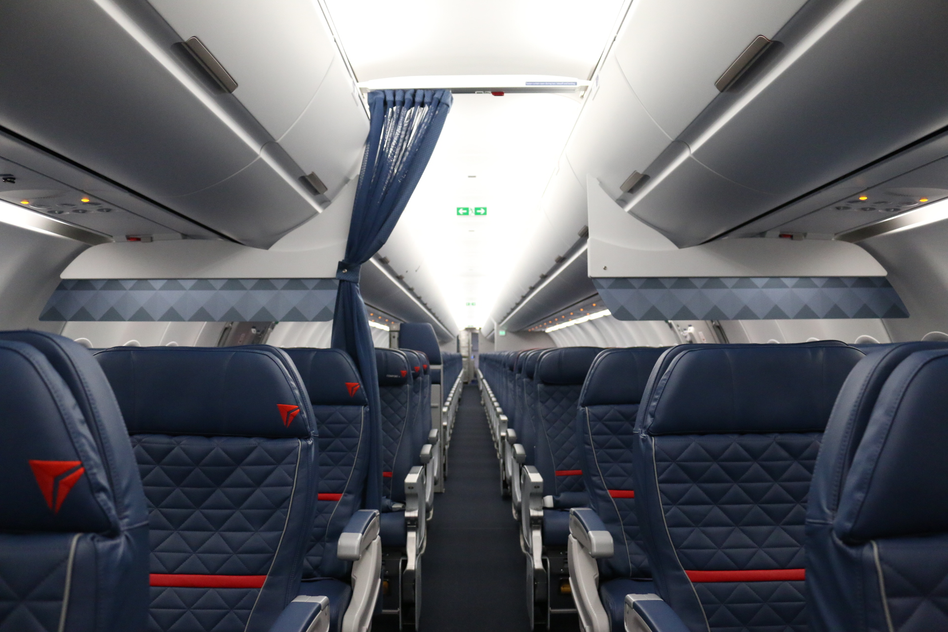A321 first look new cabin for a new aircraft delta news hub for Interior news