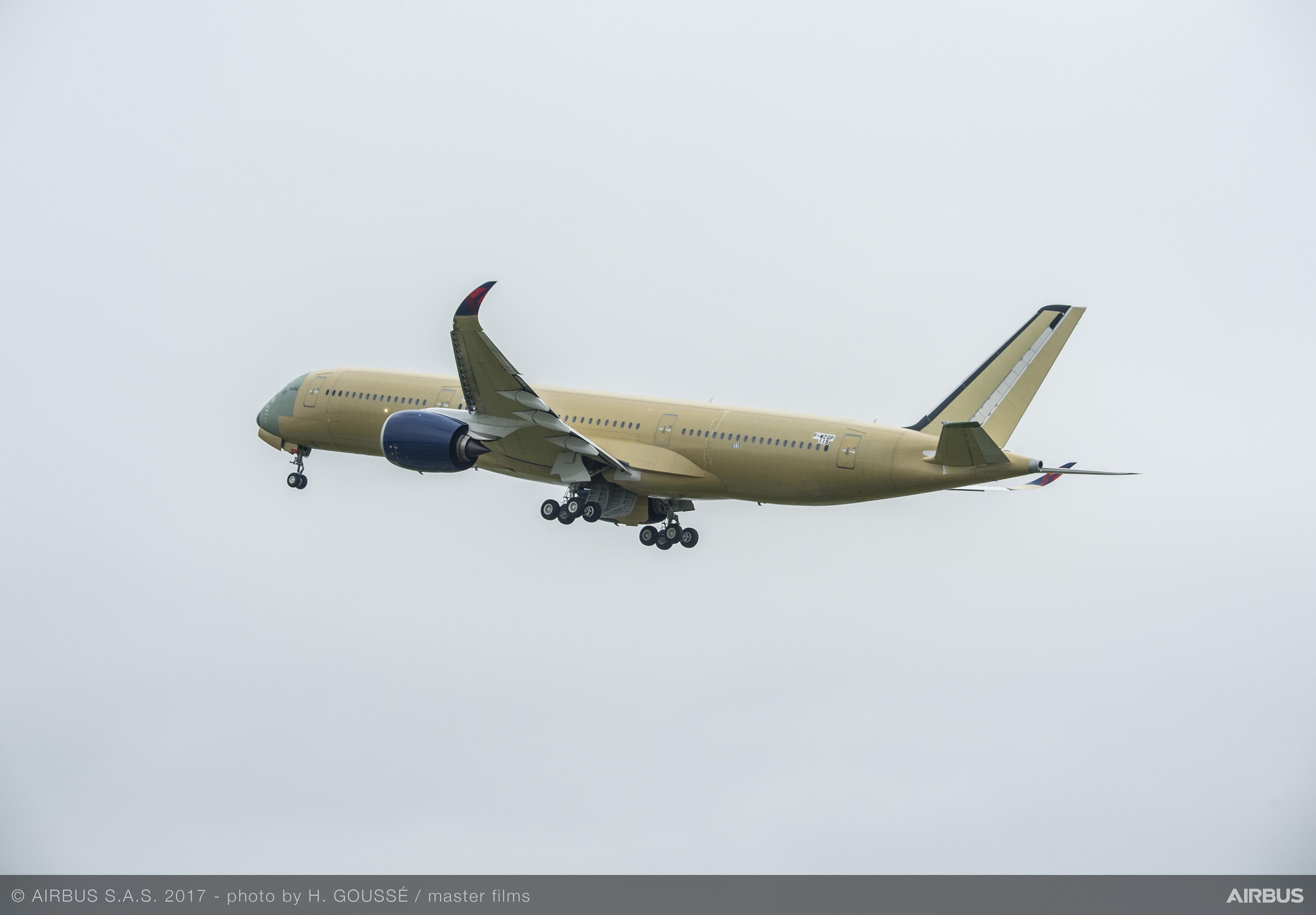 A350 test flight 2