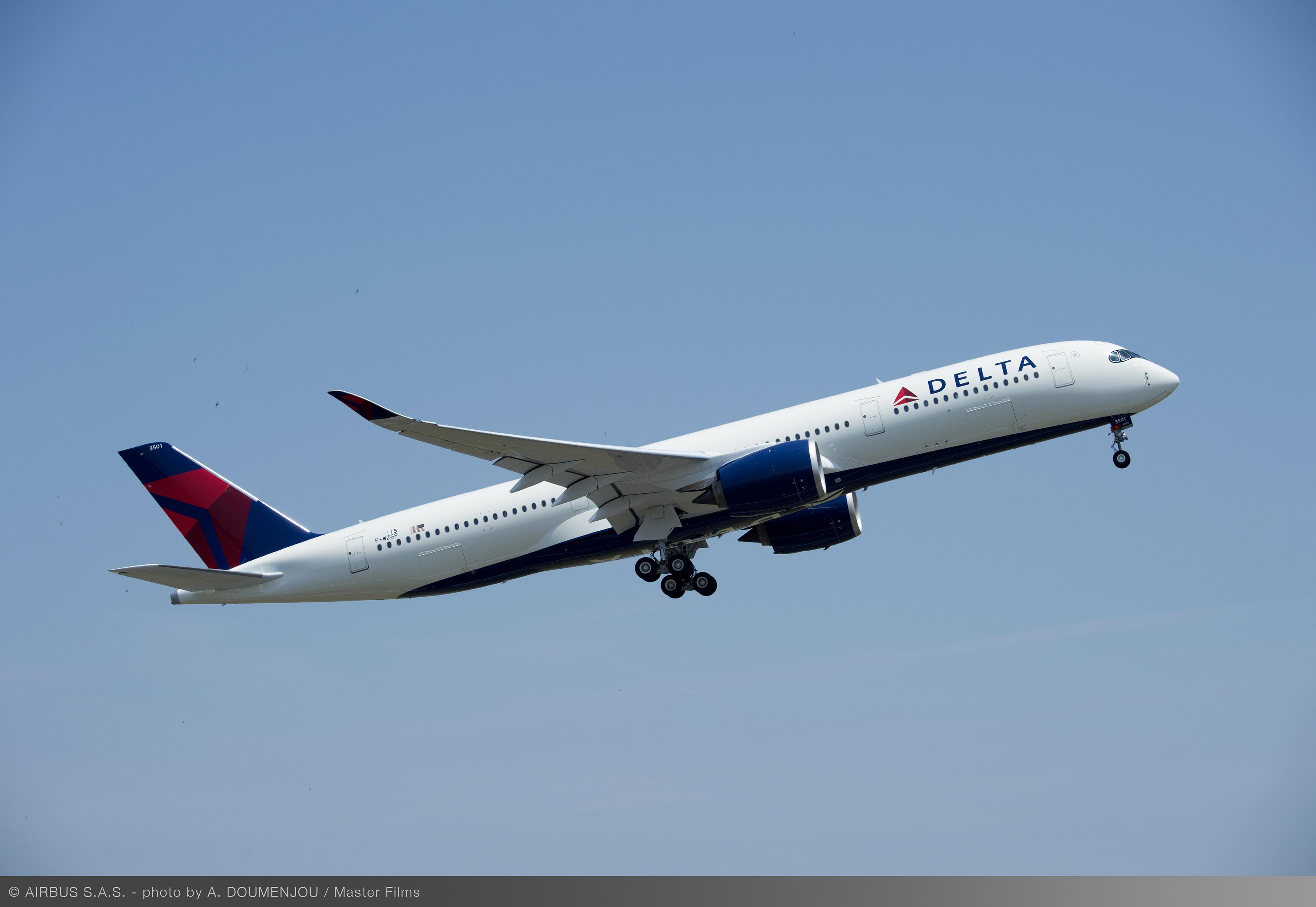 A350 airborne
