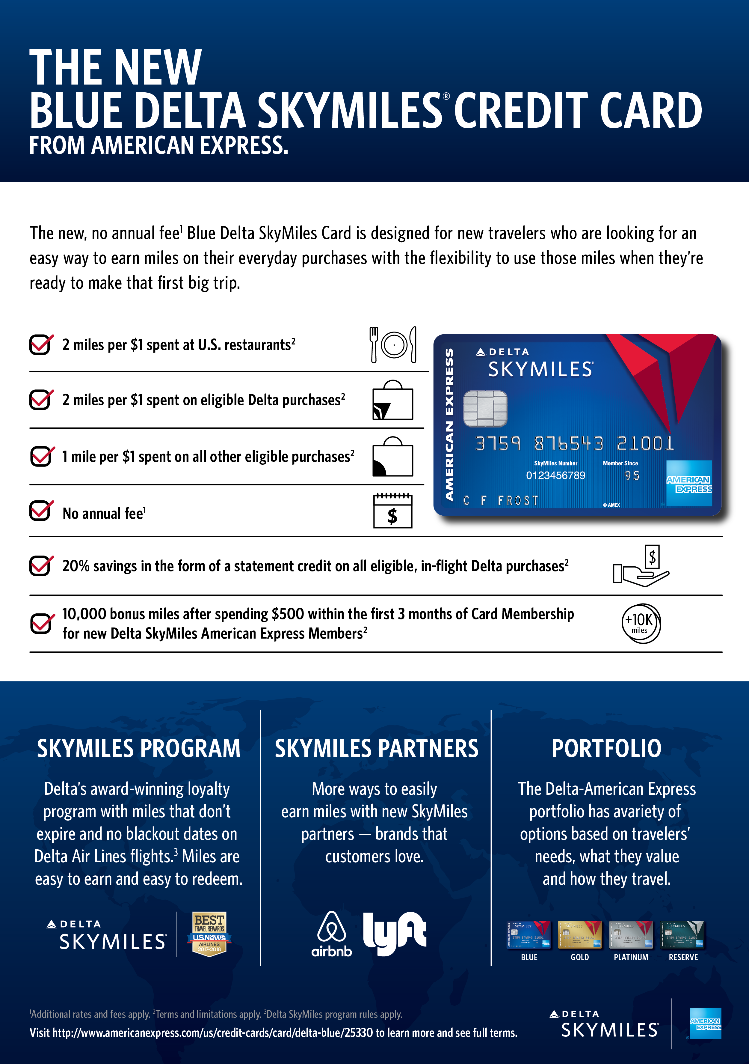 American Express and Delta serve up new, no annual fee Blue Delta ...