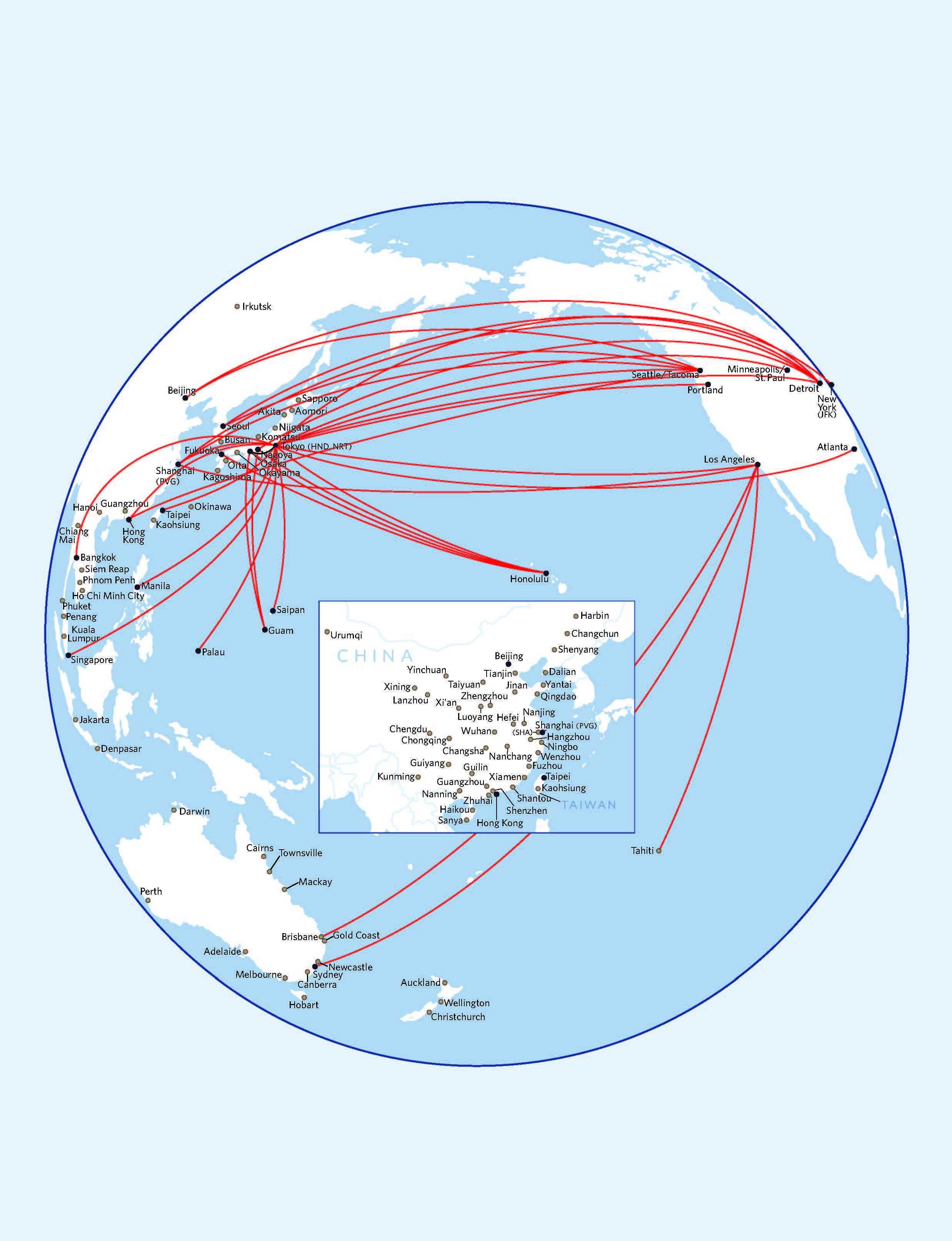 Asia City Routes
