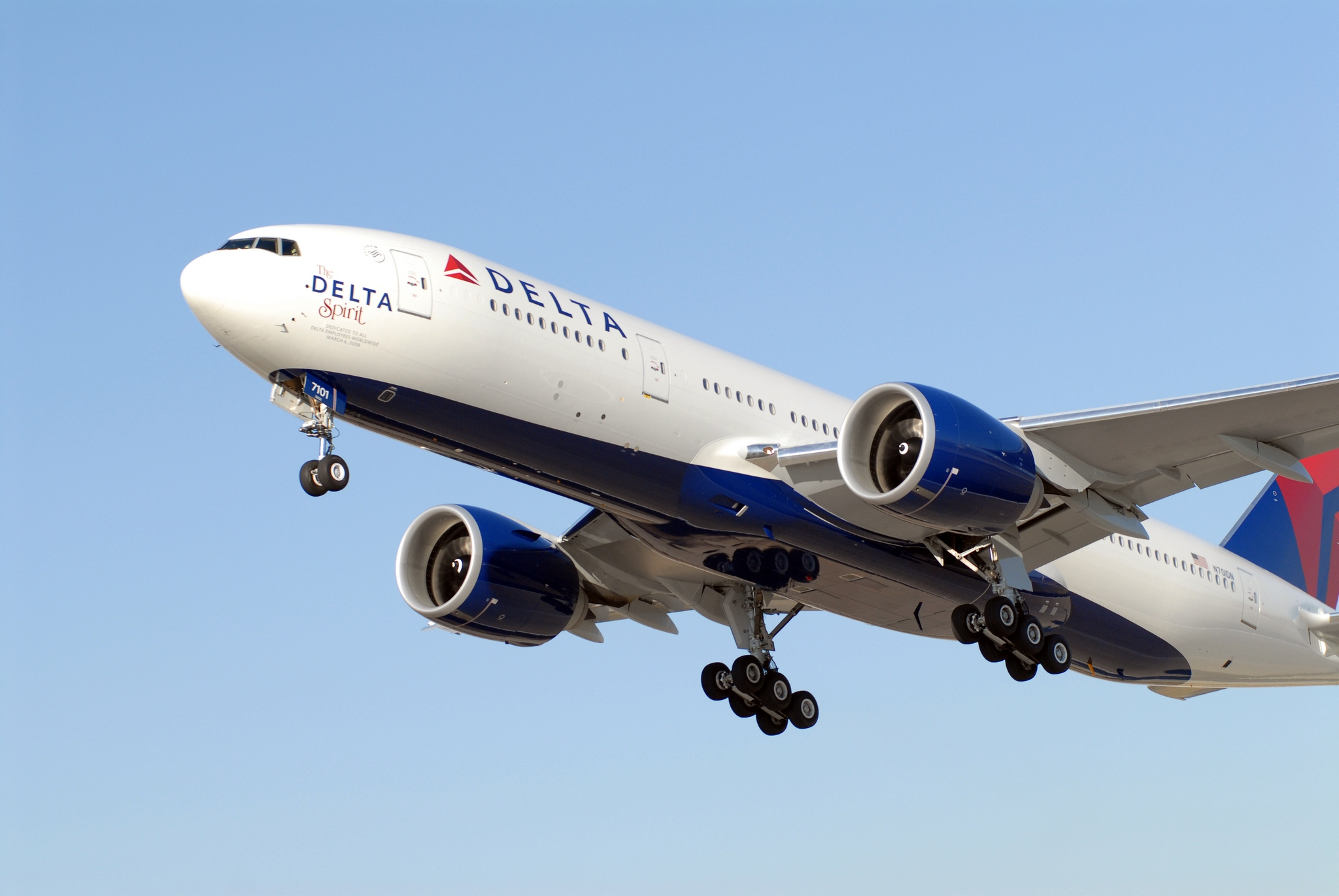 Delta Aircraft B777-200