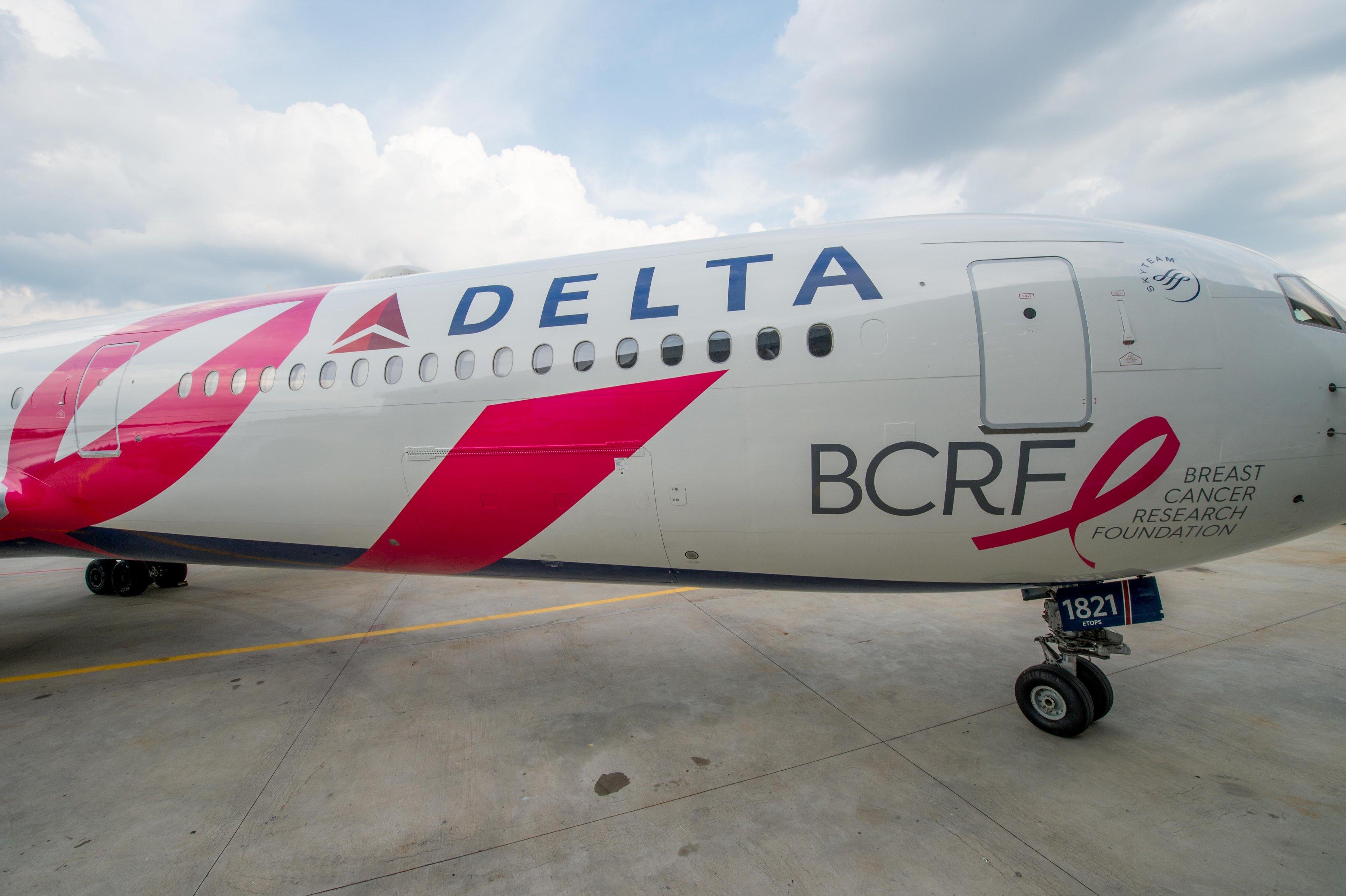 BCRF Plane Exterior
