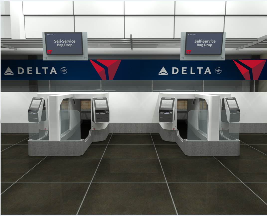 Delta Plans Biometric Based Self Service Bag Drop Delta