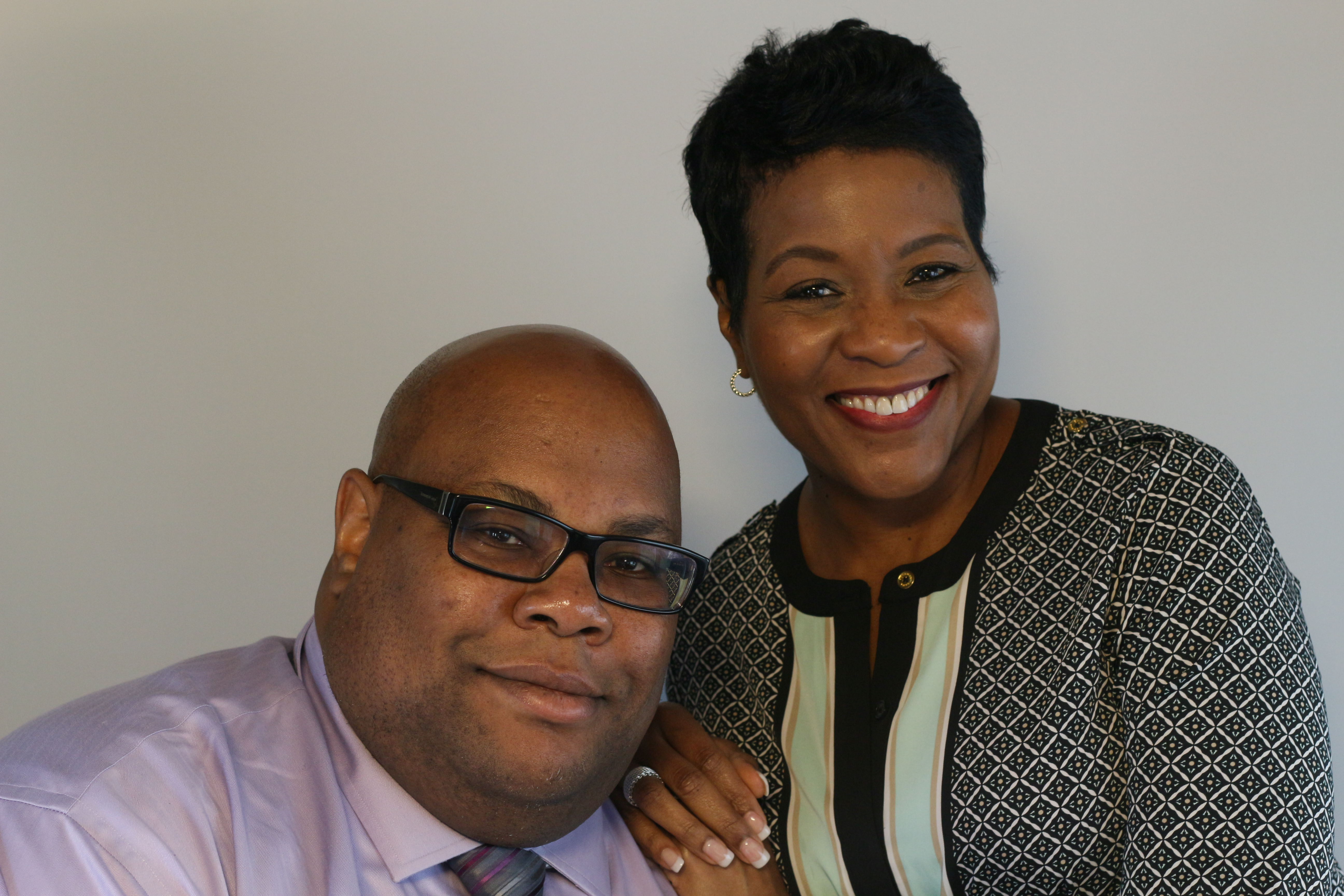Charisse Evans and Robert Rector