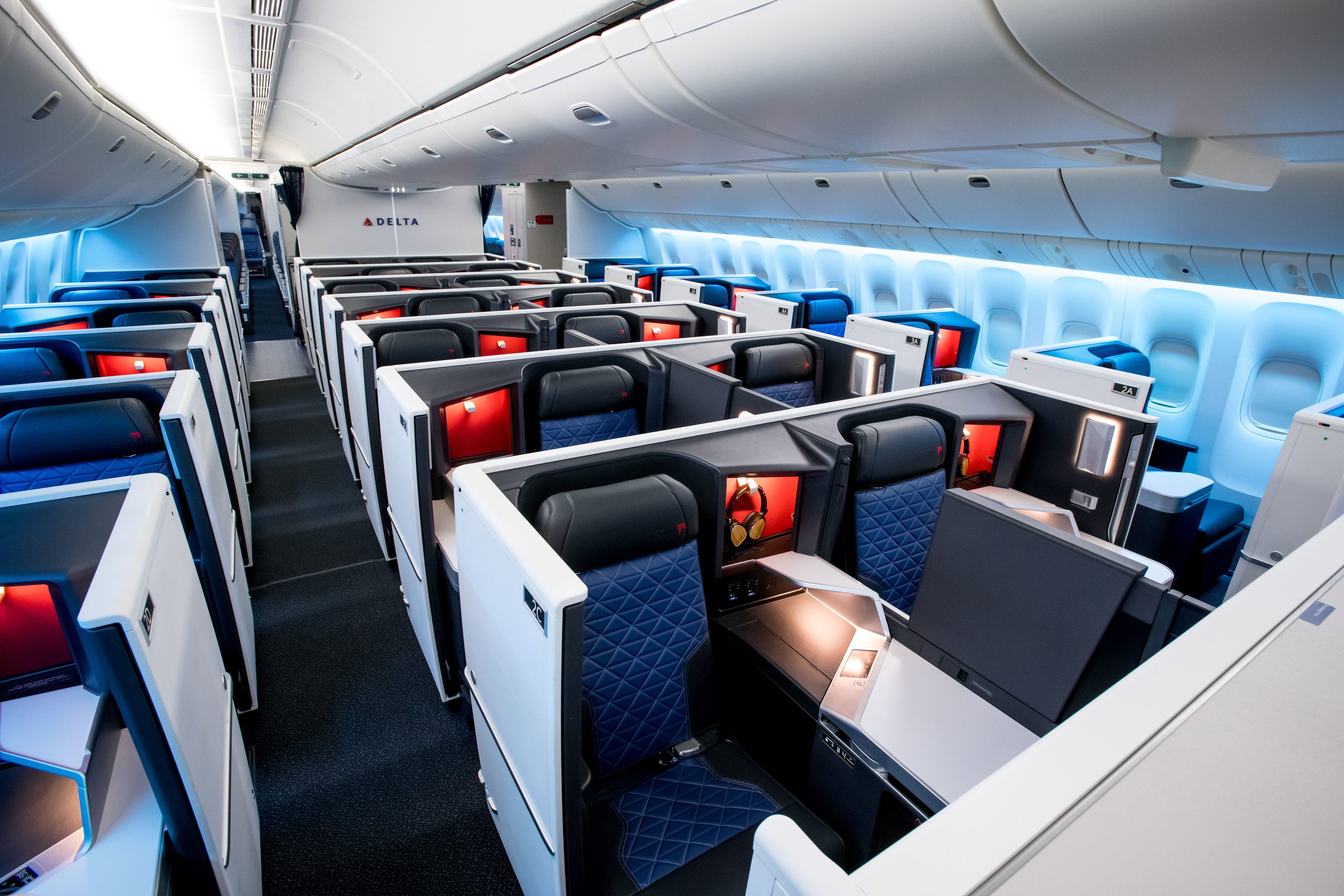 Delta Launches Upgraded Boeing 777