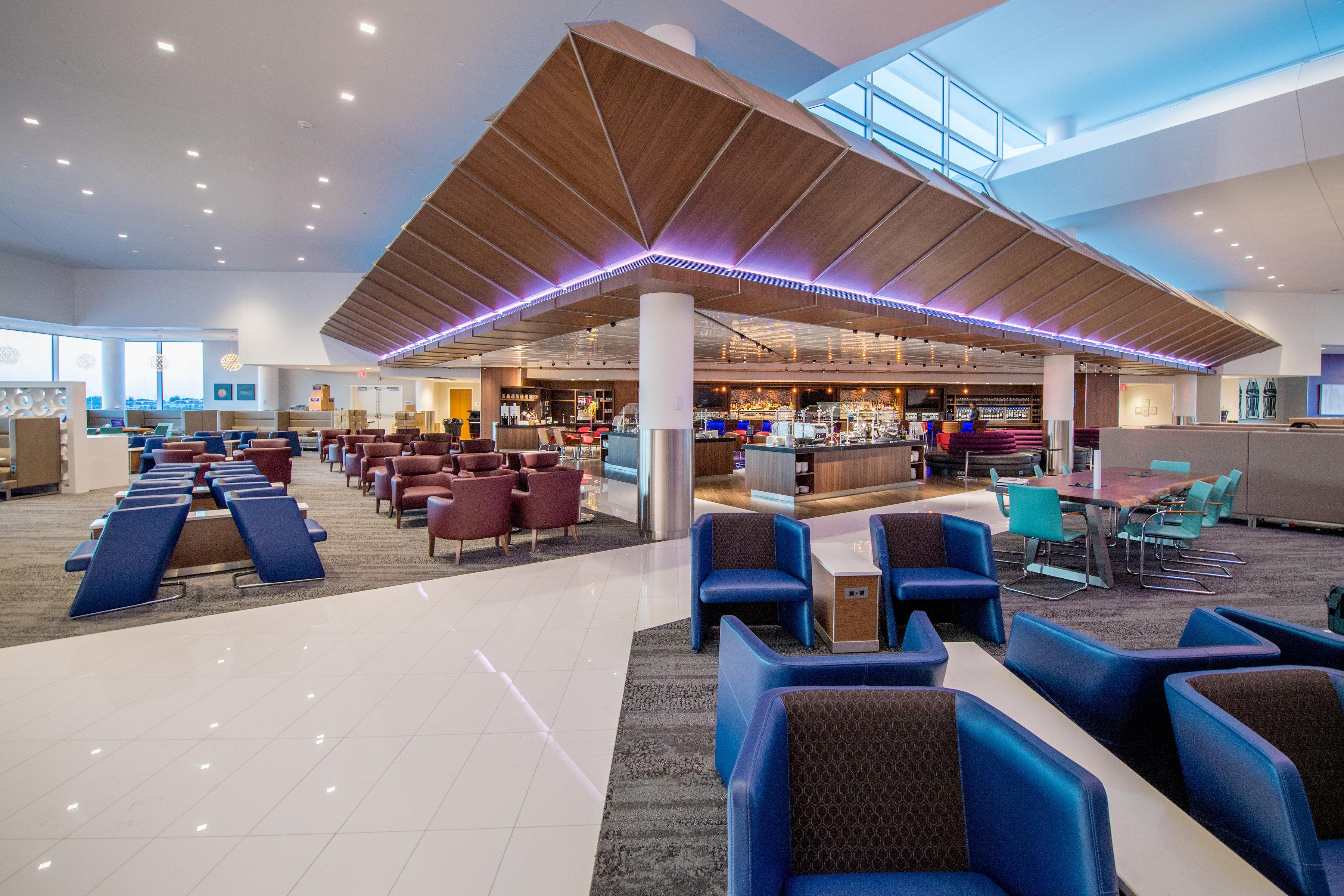 Delta Inaugura Delta Sky Club Insignia En La Terminal B De