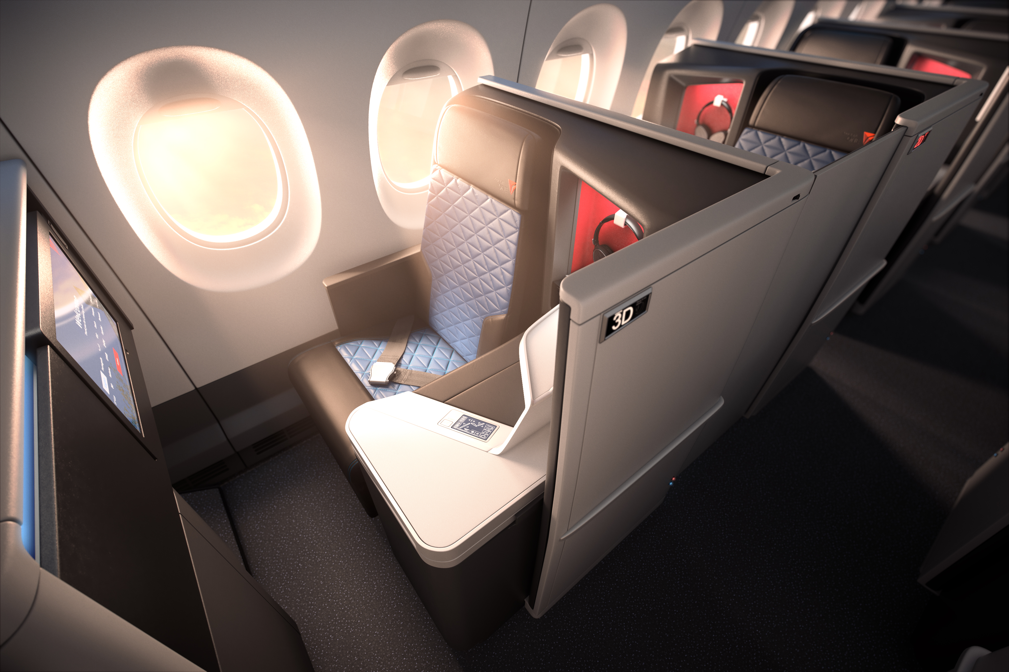 Delta introduces world s first all suite business class with Delta e suite