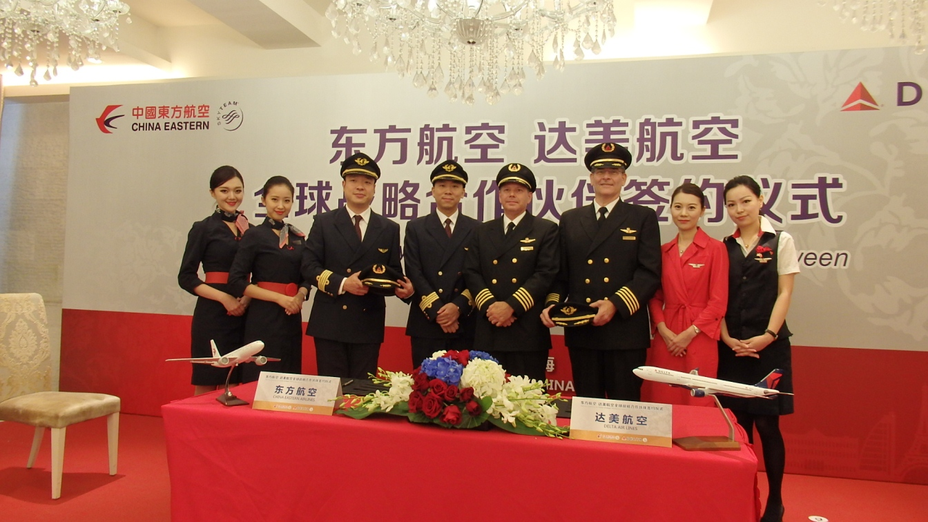 China eastern event signing