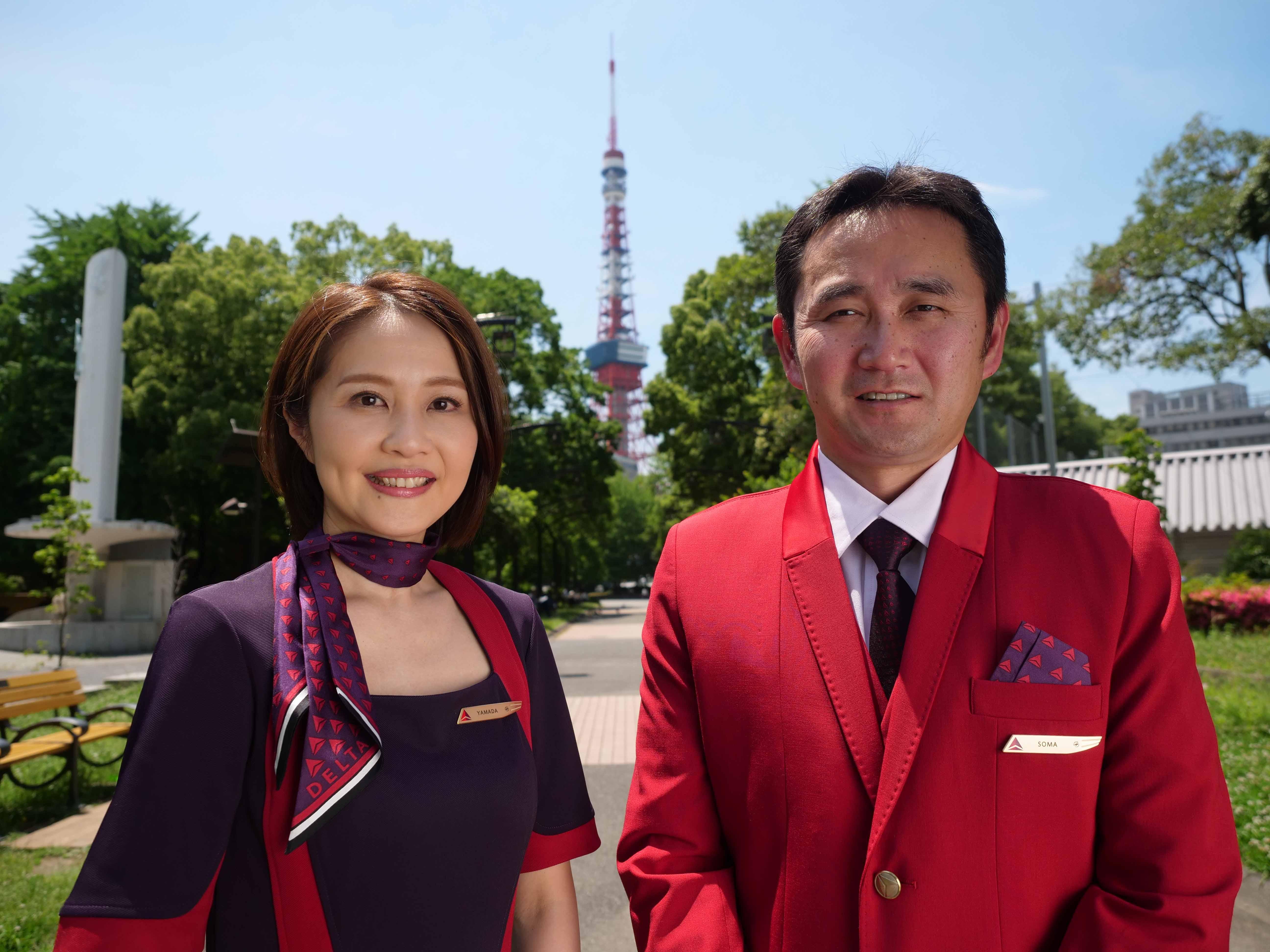 New uniform video shooting Tokyo
