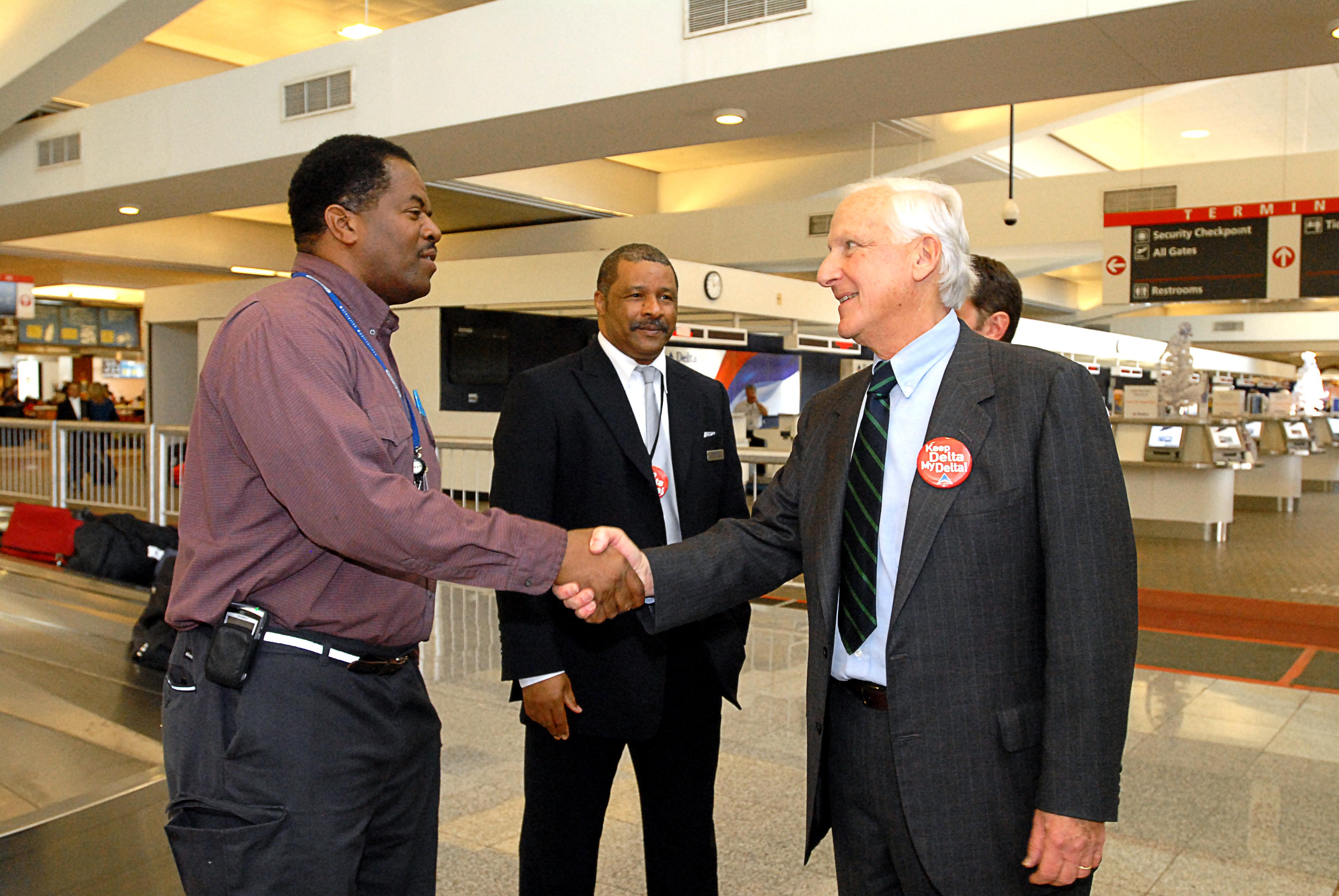 Jerry Grinstein, Delta CEO