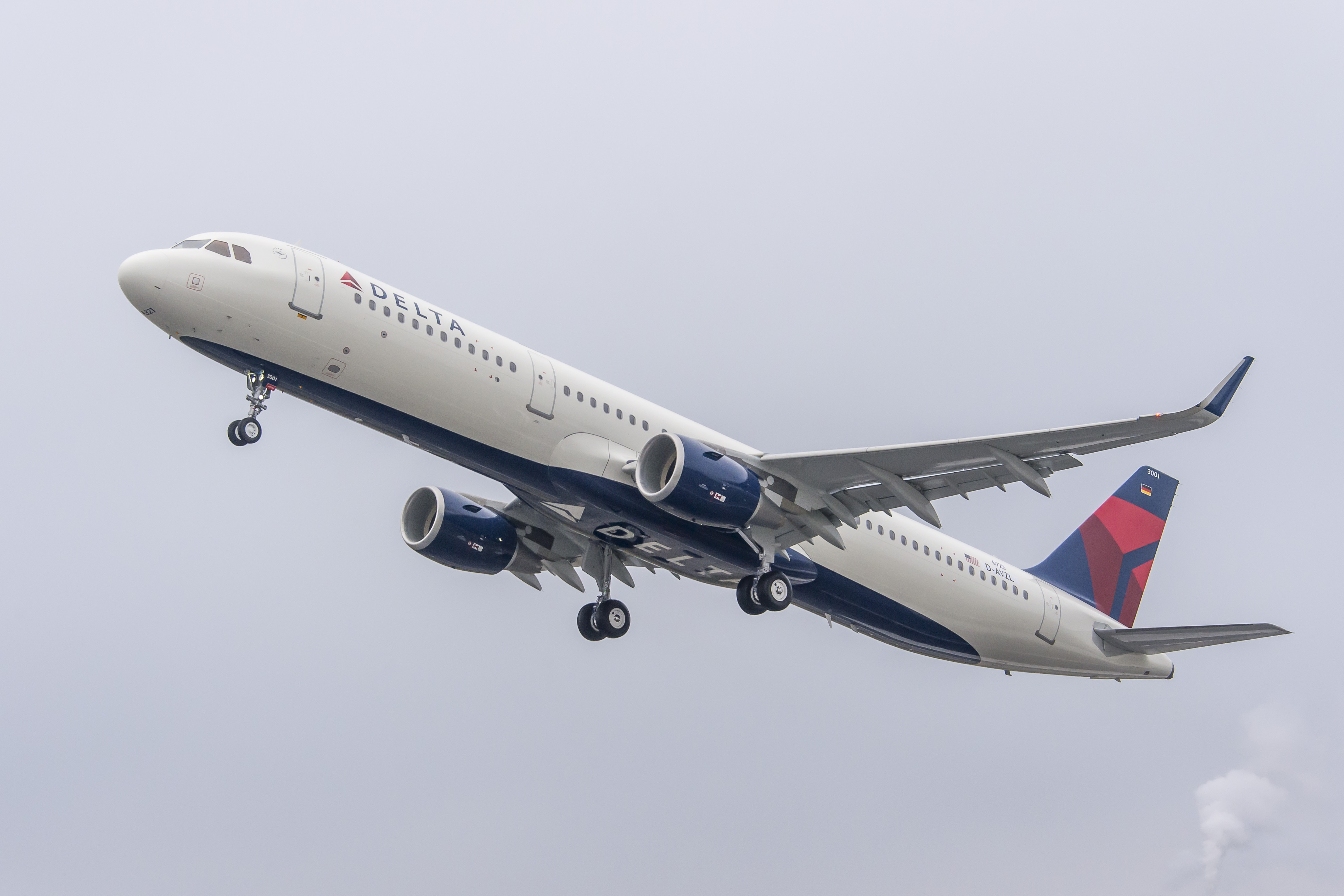 A321 Taking off