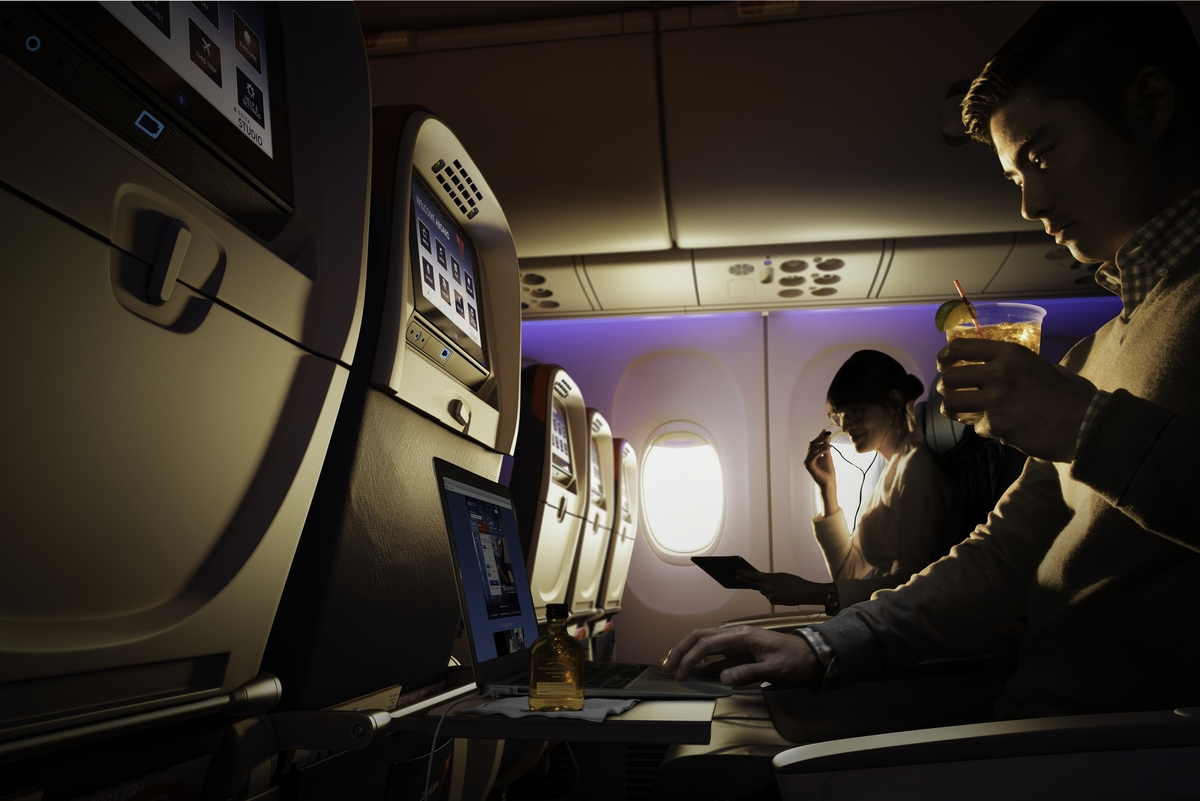 Delta Comfort Plus Seats