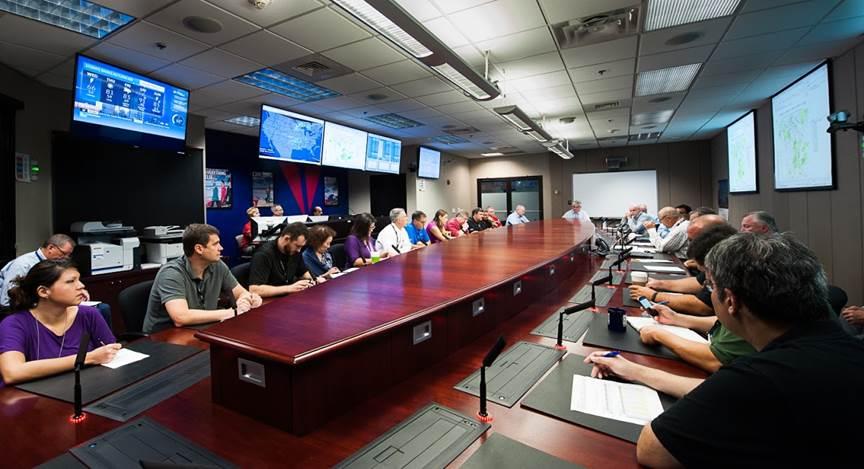 Meteorology People at Meeting
