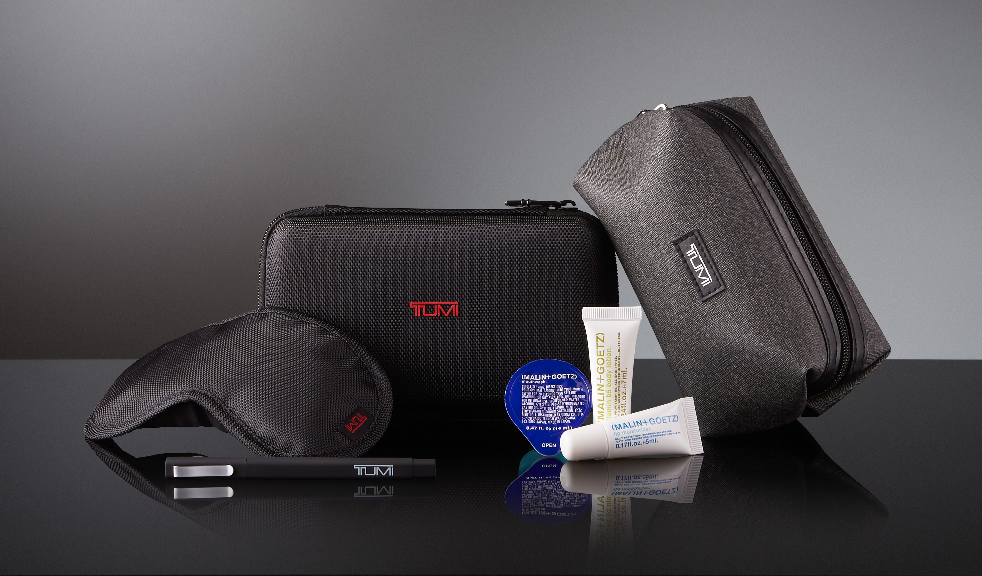 Delta's new amenity kits for DeltaOne