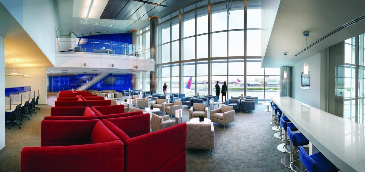 Delta Sky Club ATL Concourse F