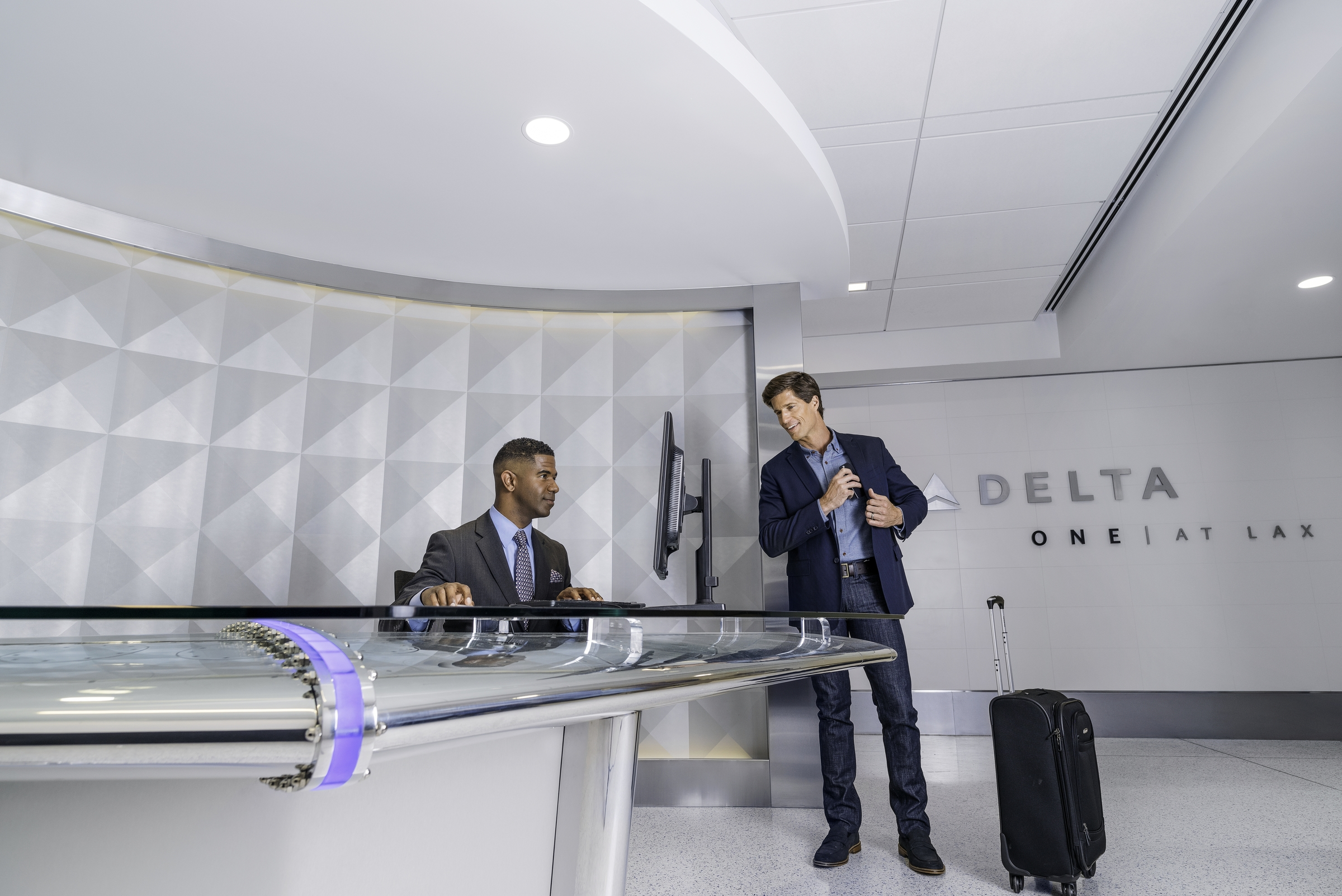 Delta ONE at LAX Lobby
