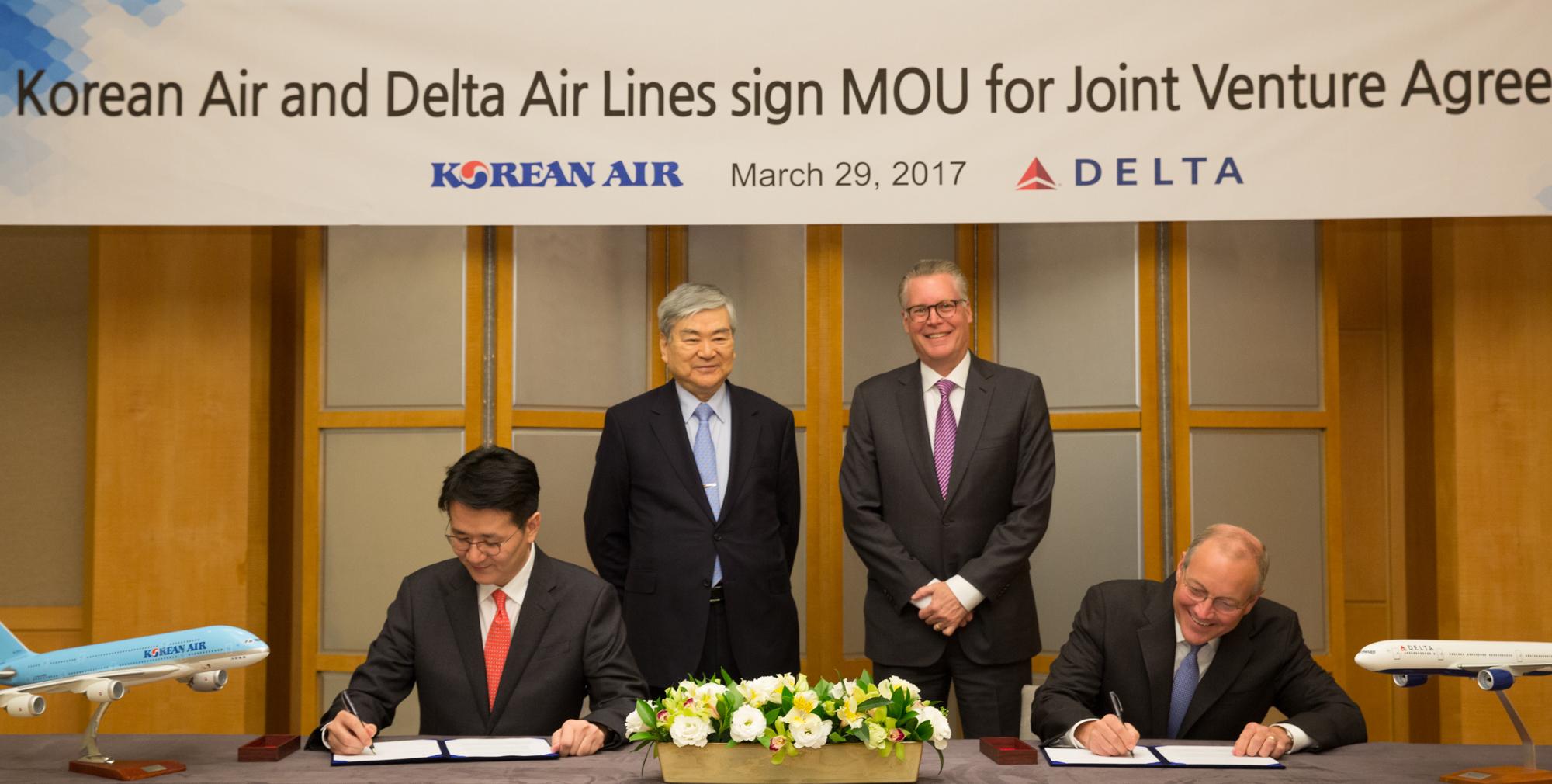Delta, Korean expand partnership