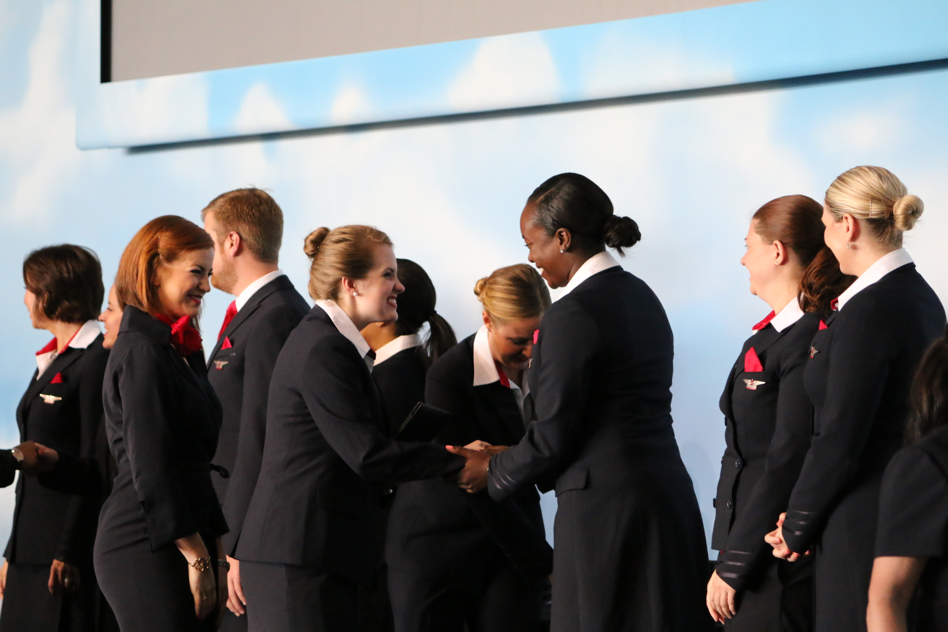 Flight attendants get their wings | Delta News Hub