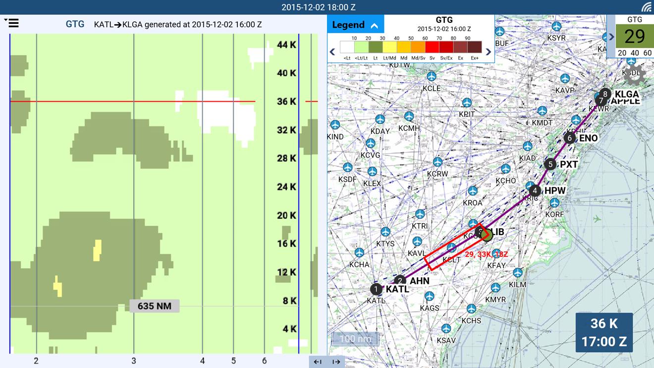 Flight Weather Viewer screenshot