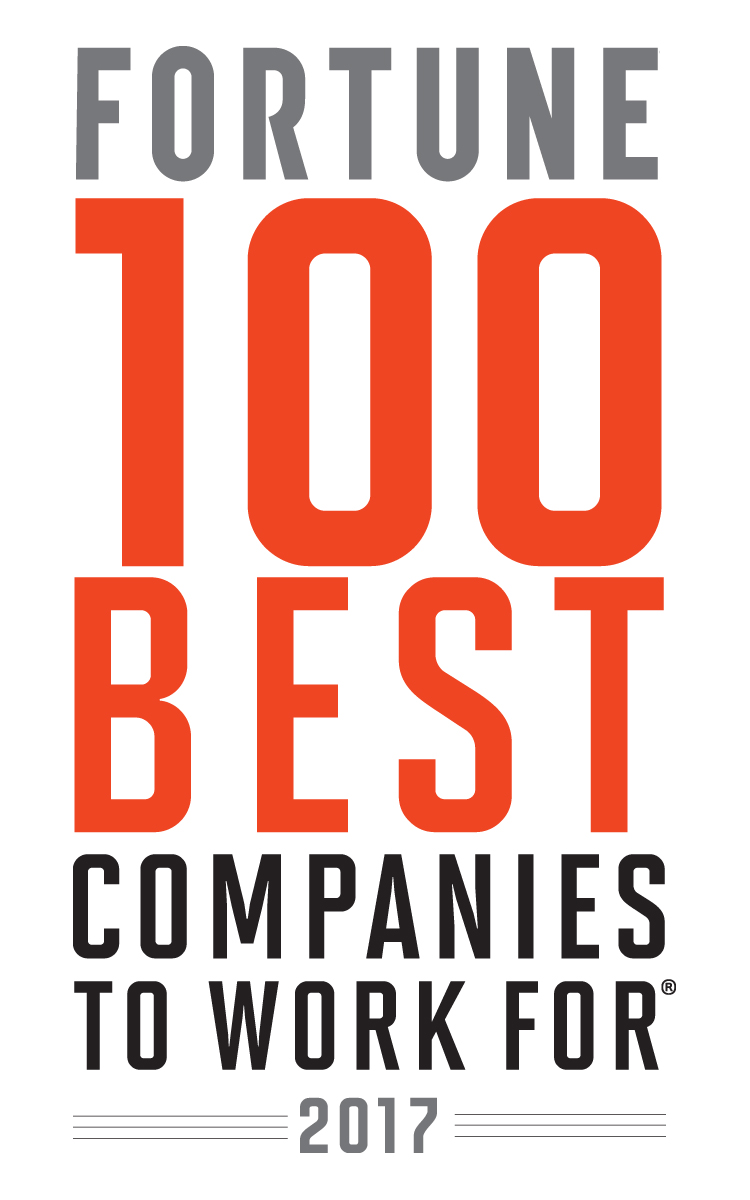 100 Best Companies to Work For logo