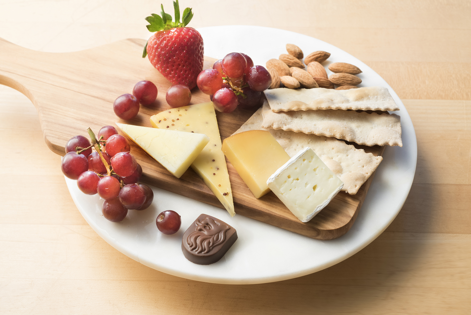 Fruit u0026 Cheese plate from Flight Fuel & Spring into fresh flavors in-flight with Deltau0027s refreshed Flight ...
