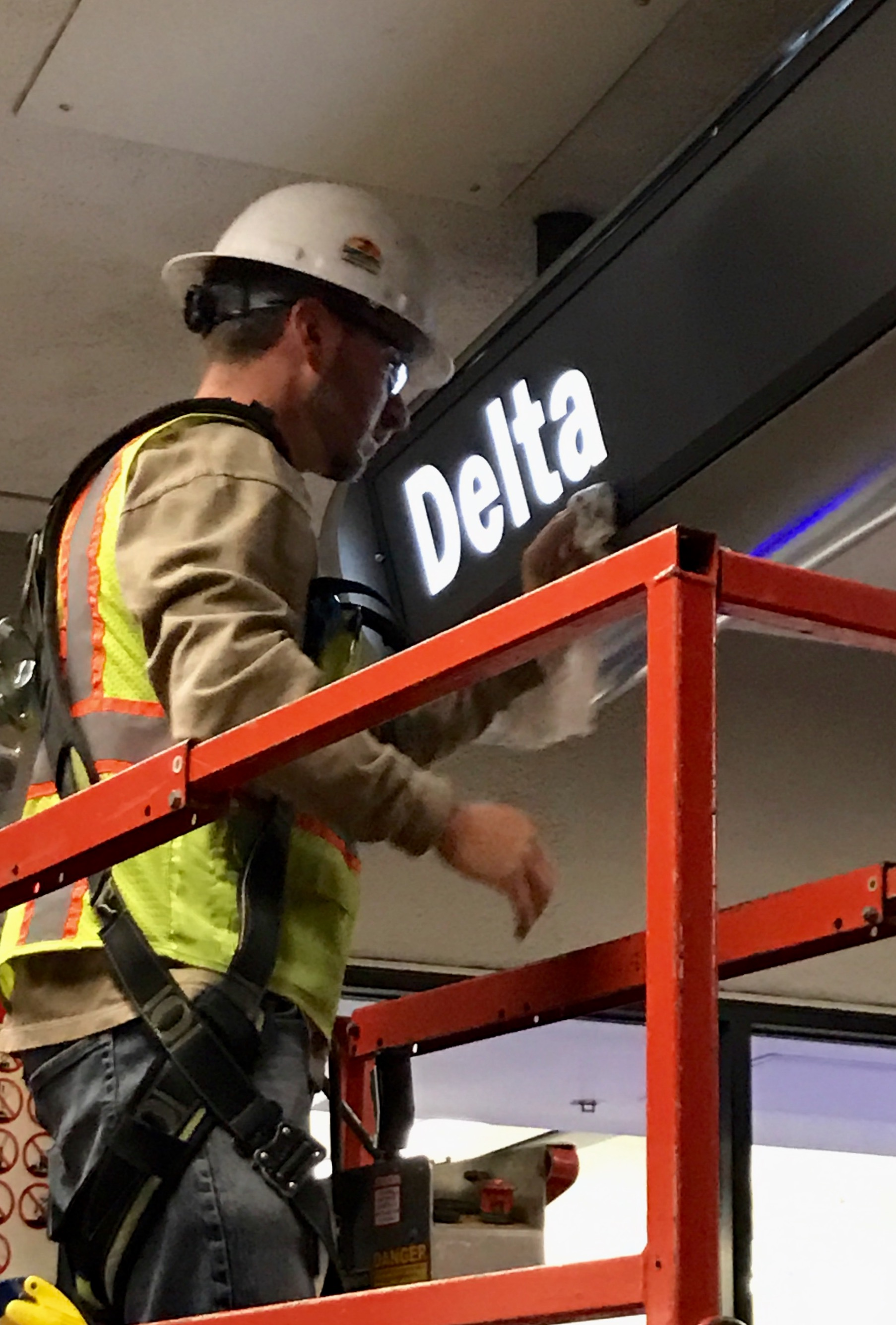 Construction at LAX