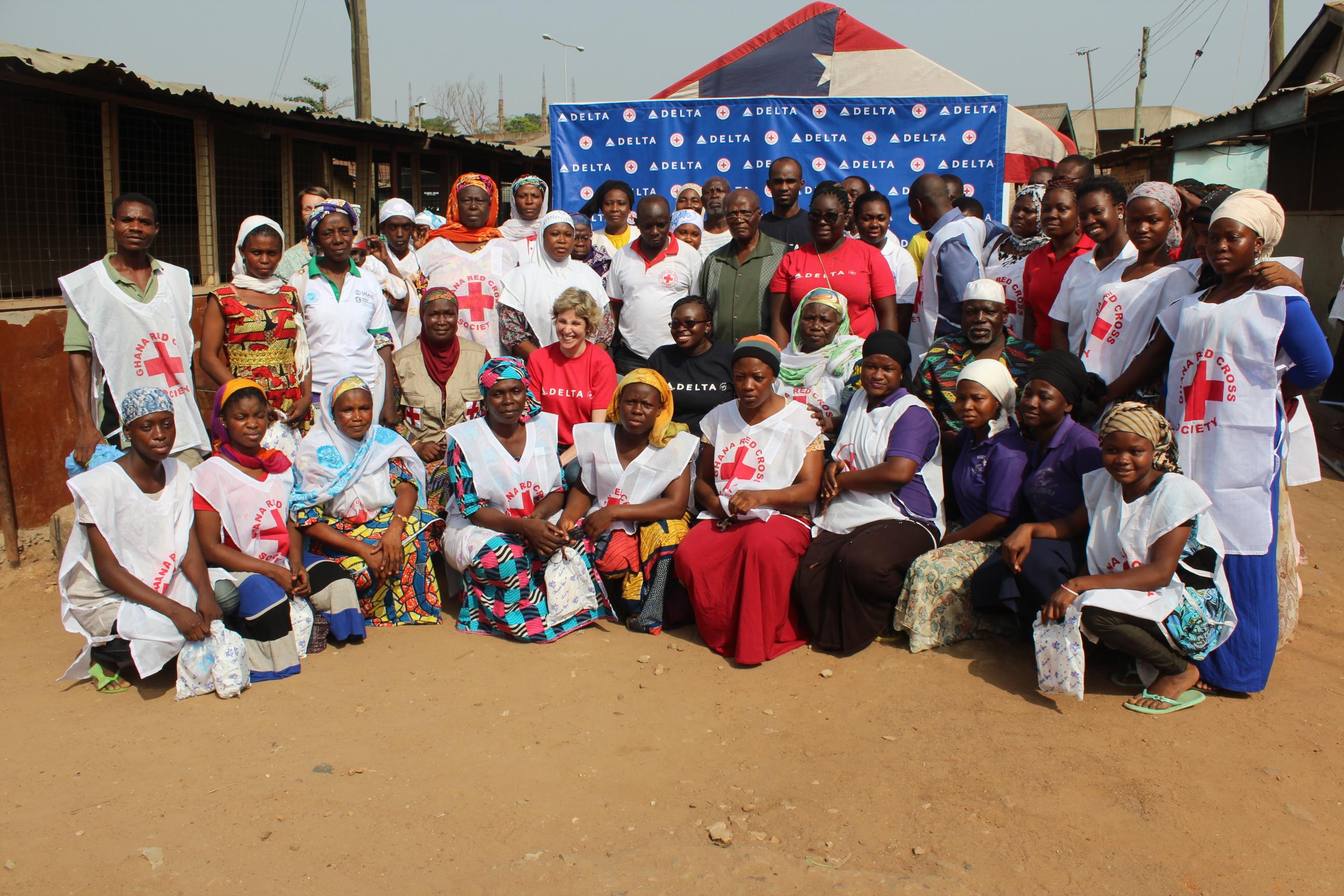 Ghana Red Cross Group Photos