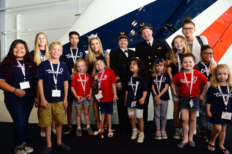 Children and Pilots in the Museum