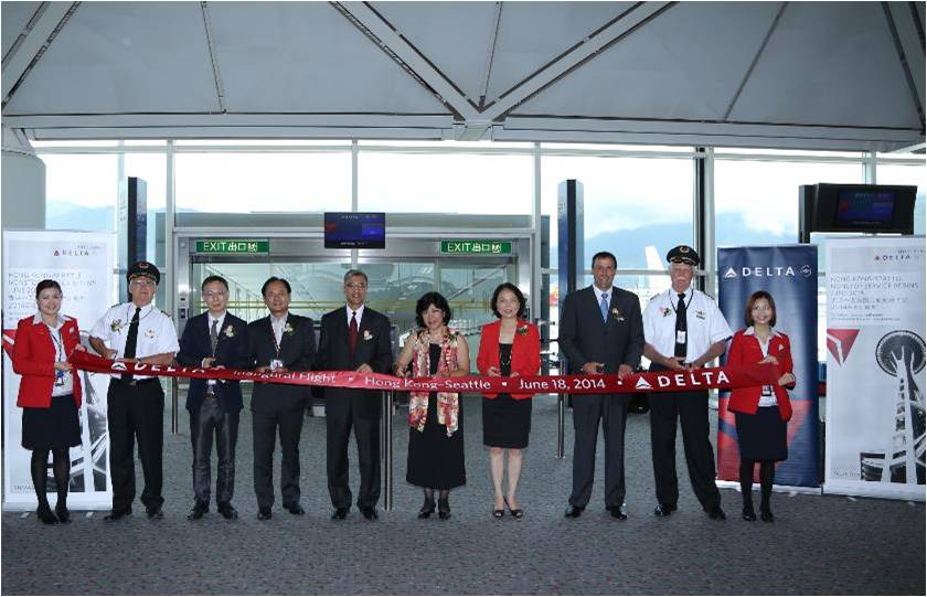 HKG-SEA ribbon cutting