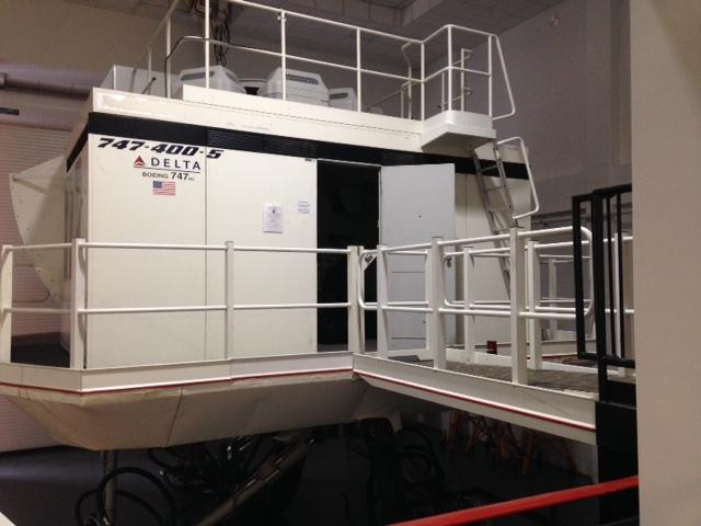 Simulator for 747-400-5