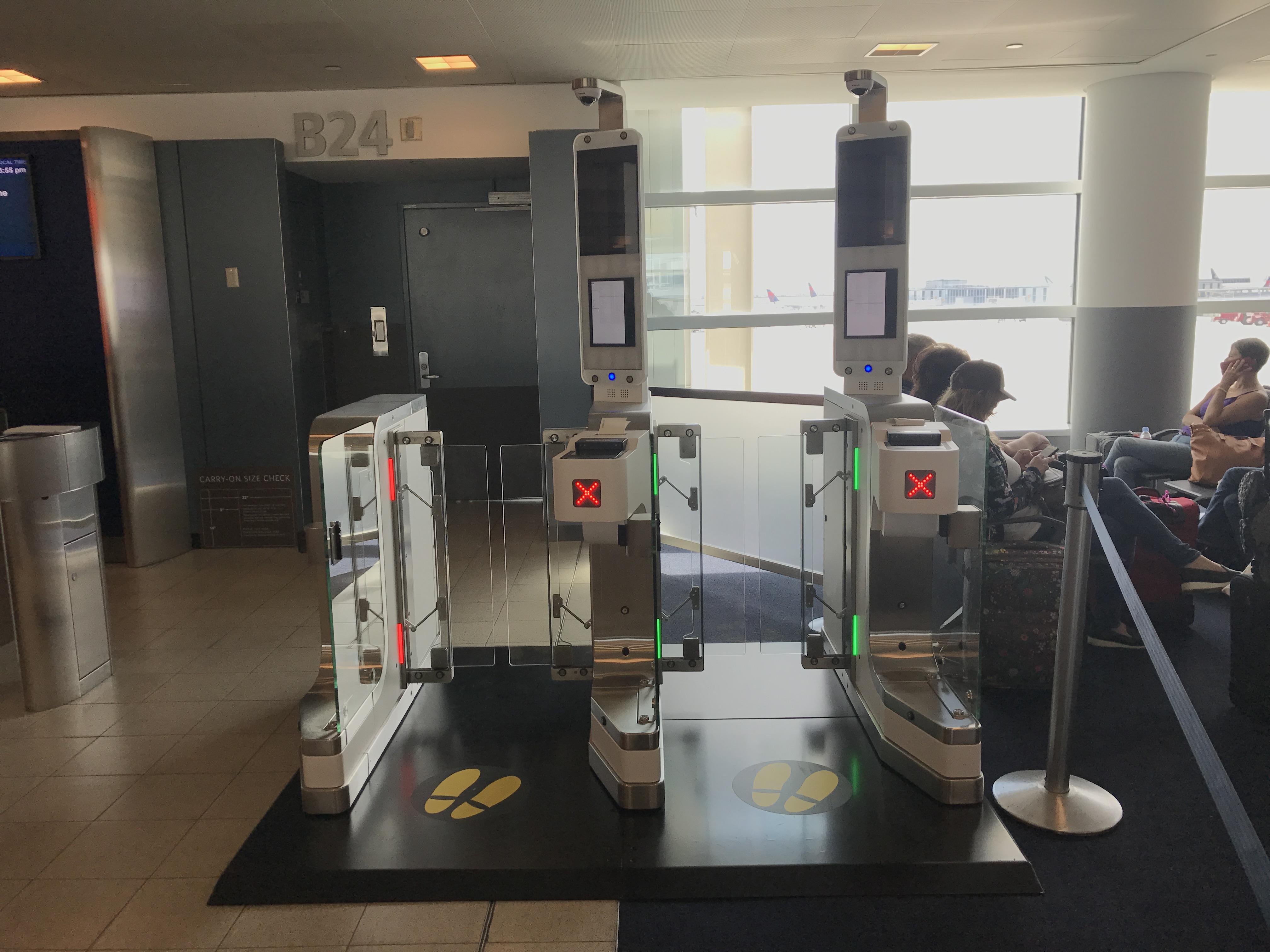 Delta Tests Next Generation Biometric Cbp Egates In
