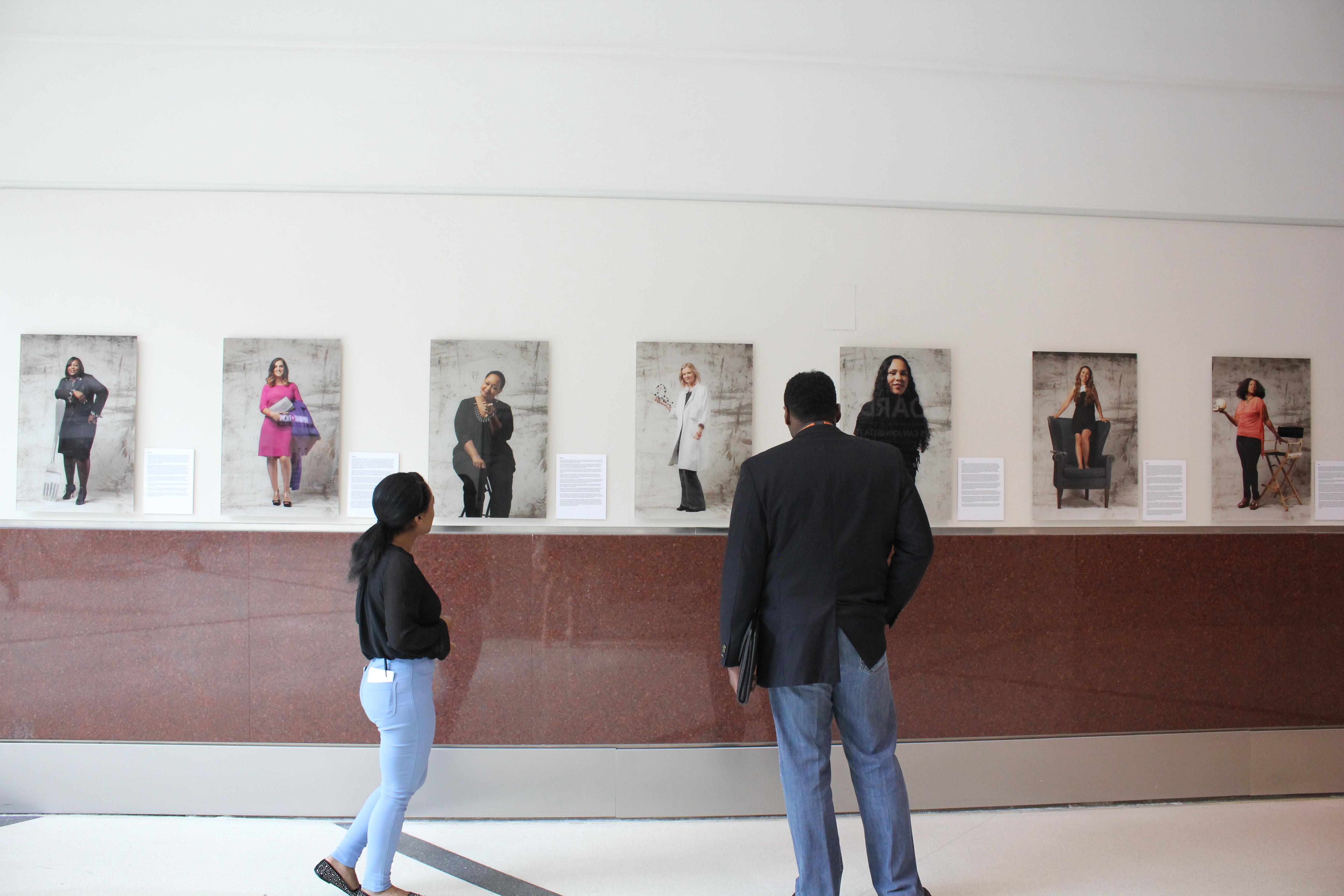 'More Than a Survivor' exhibit