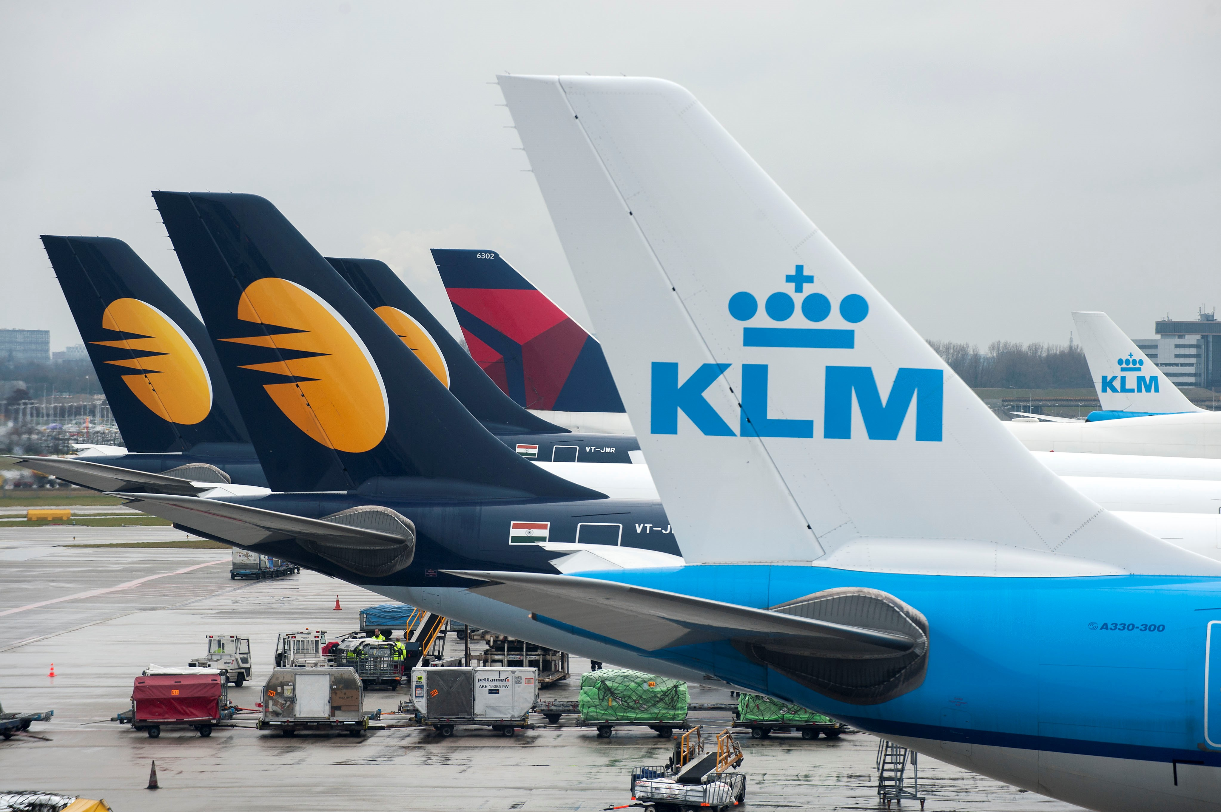 Delta partnership with Jet Airways, KLM expands India network | Delta ...