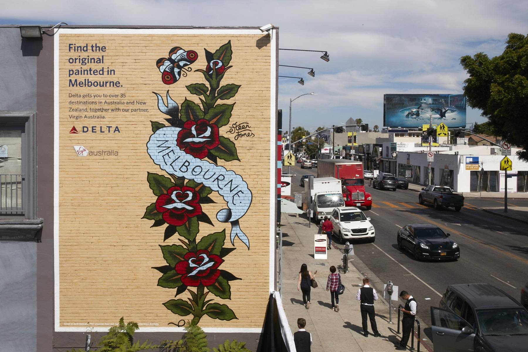delta brings street art from around the world to l a delta news hub painted walls 2