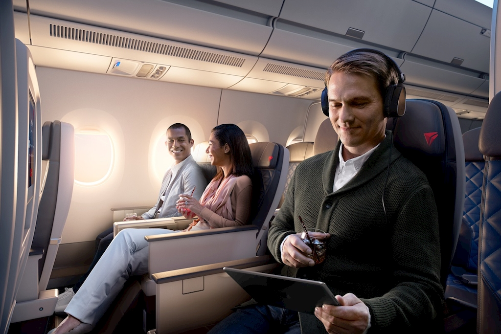 Delta becomes only U S  airline to offer all in-flight