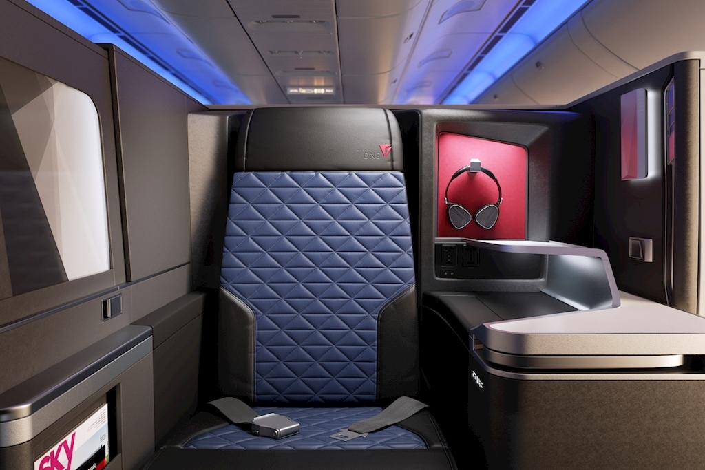 Delta international business class seats