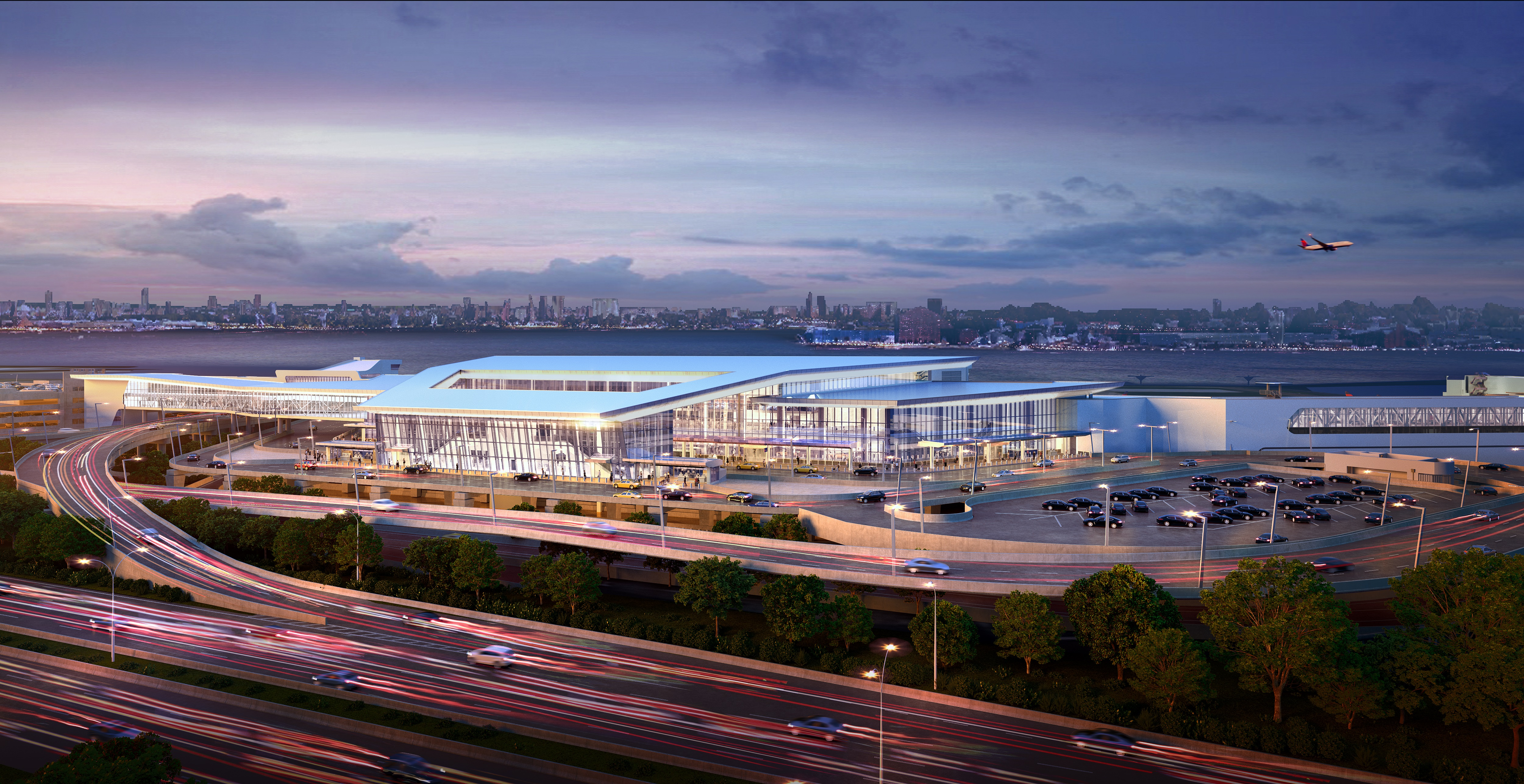 Coming into view: Delta's first new LaGuardia concourse to open this fall