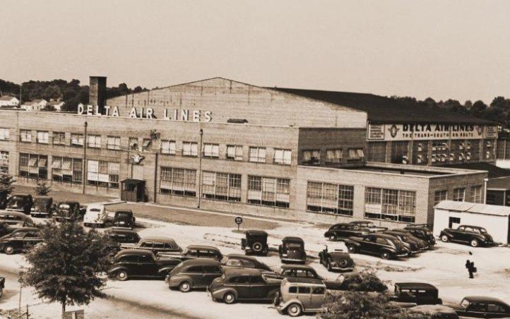 Delta's headquarters in the 1940s