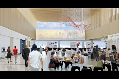Delta, Los Angeles World Airports prepare for construction of $1 86