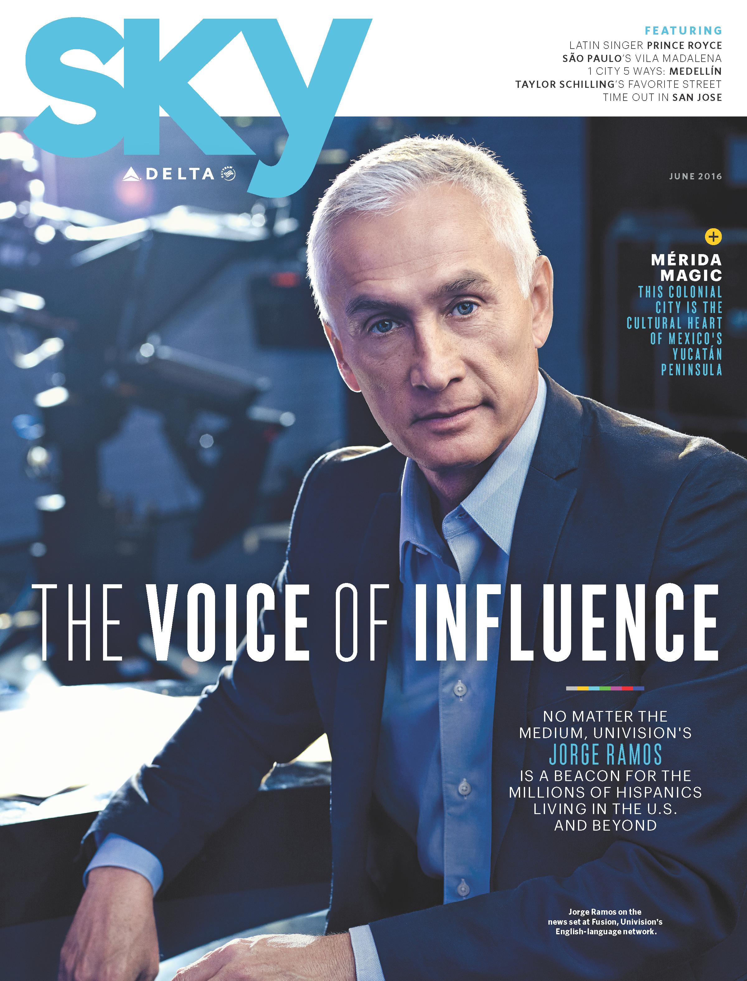 June Sky magazine: Jorge Ramos