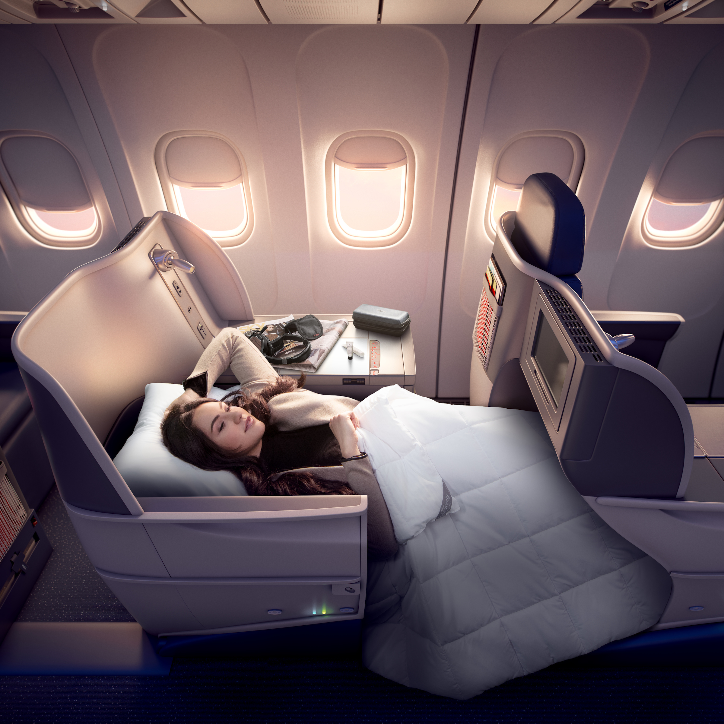 47d364a31769 Delta launches BOS-SFO route with Delta One cabin