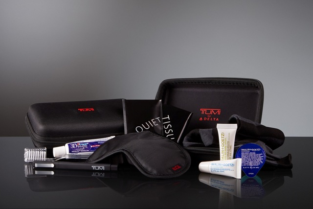 Tumi Hard Case Amenity Kits
