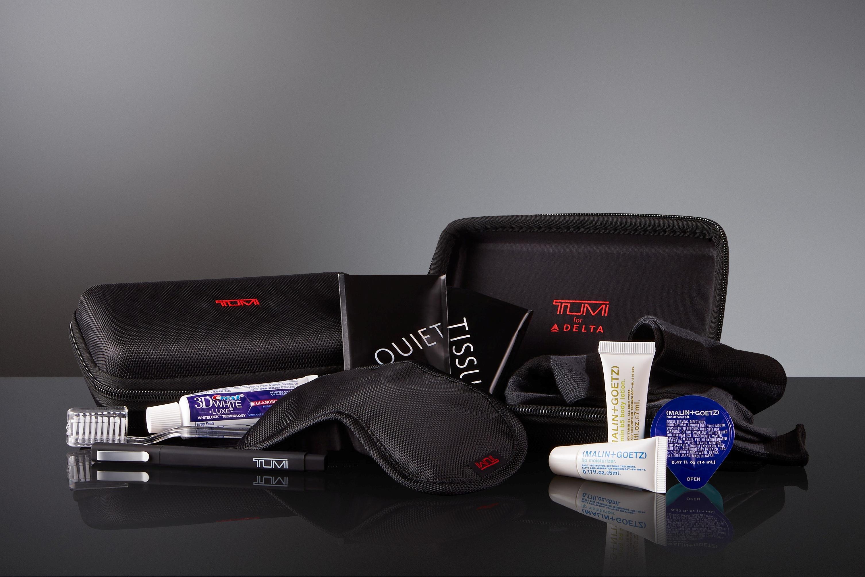 Tumi Hard Case Amenity Kits