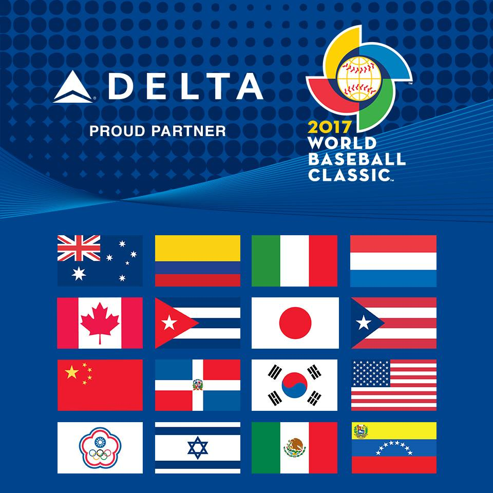 Delta supports WBC 2017