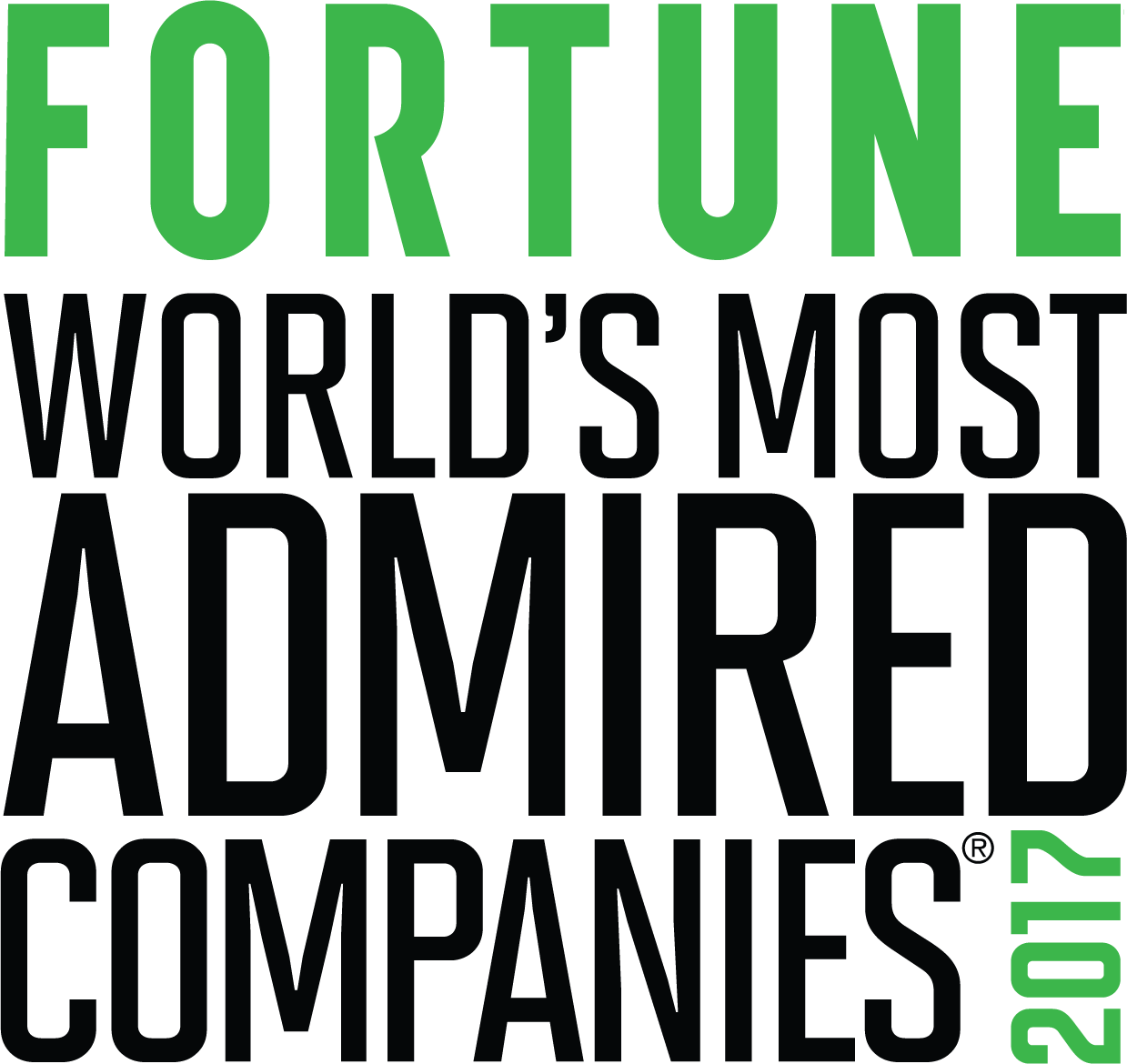 World's Most Admired Companies 2017 logo